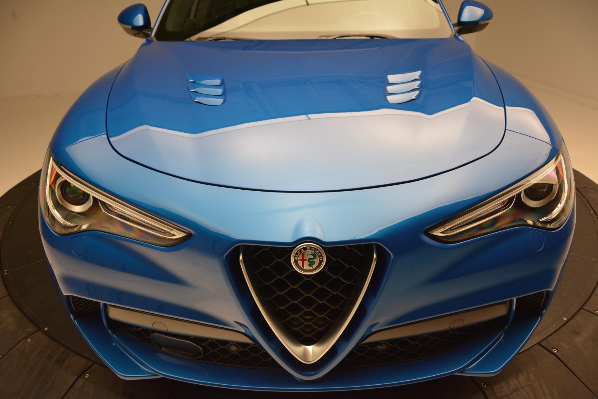 New 2019 Alfa Romeo Stelvio Quadrifoglio For Sale In Westport, CT 3094_p27