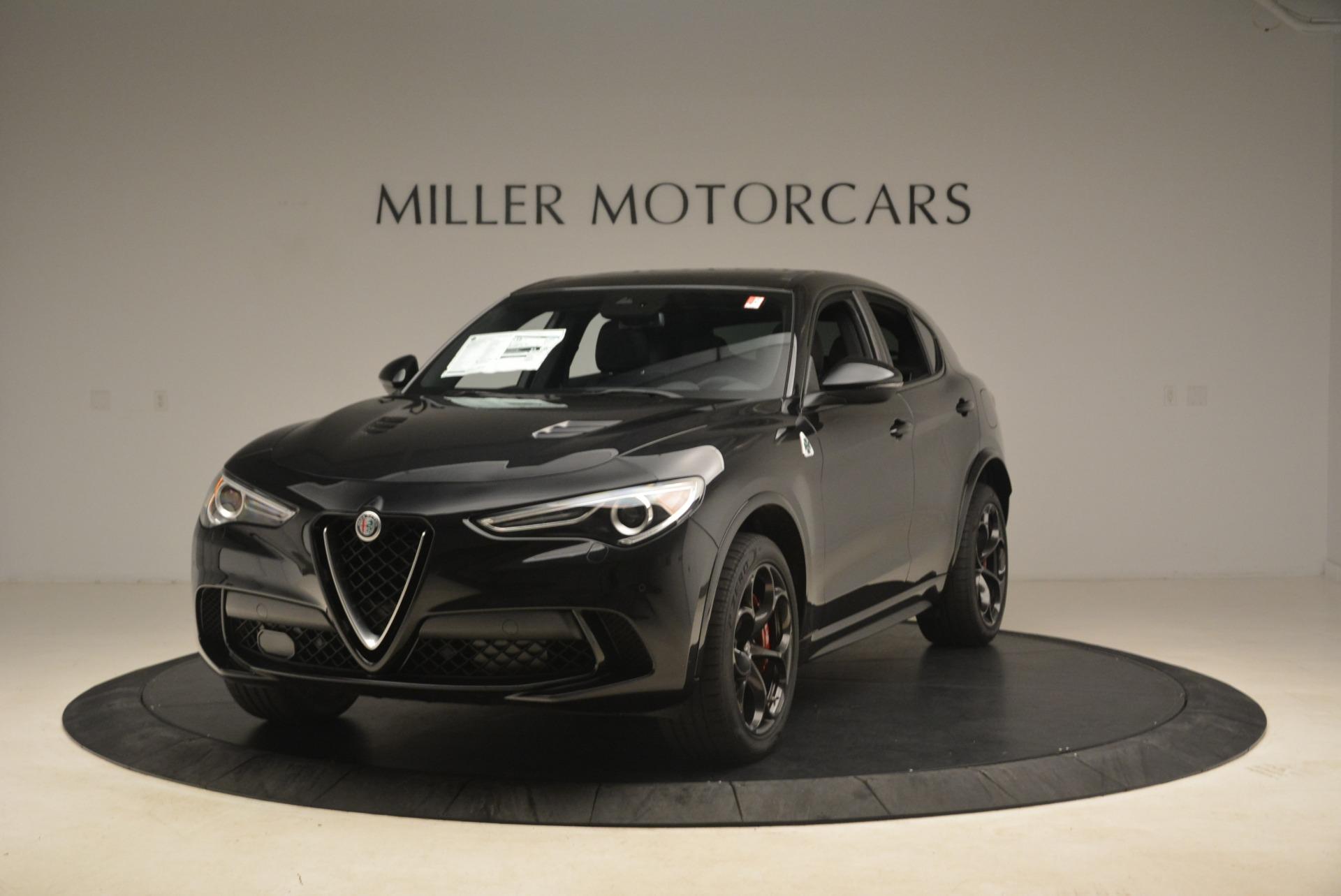 New 2019 Alfa Romeo Stelvio Quadrifoglio For Sale In Westport, CT 3095_main