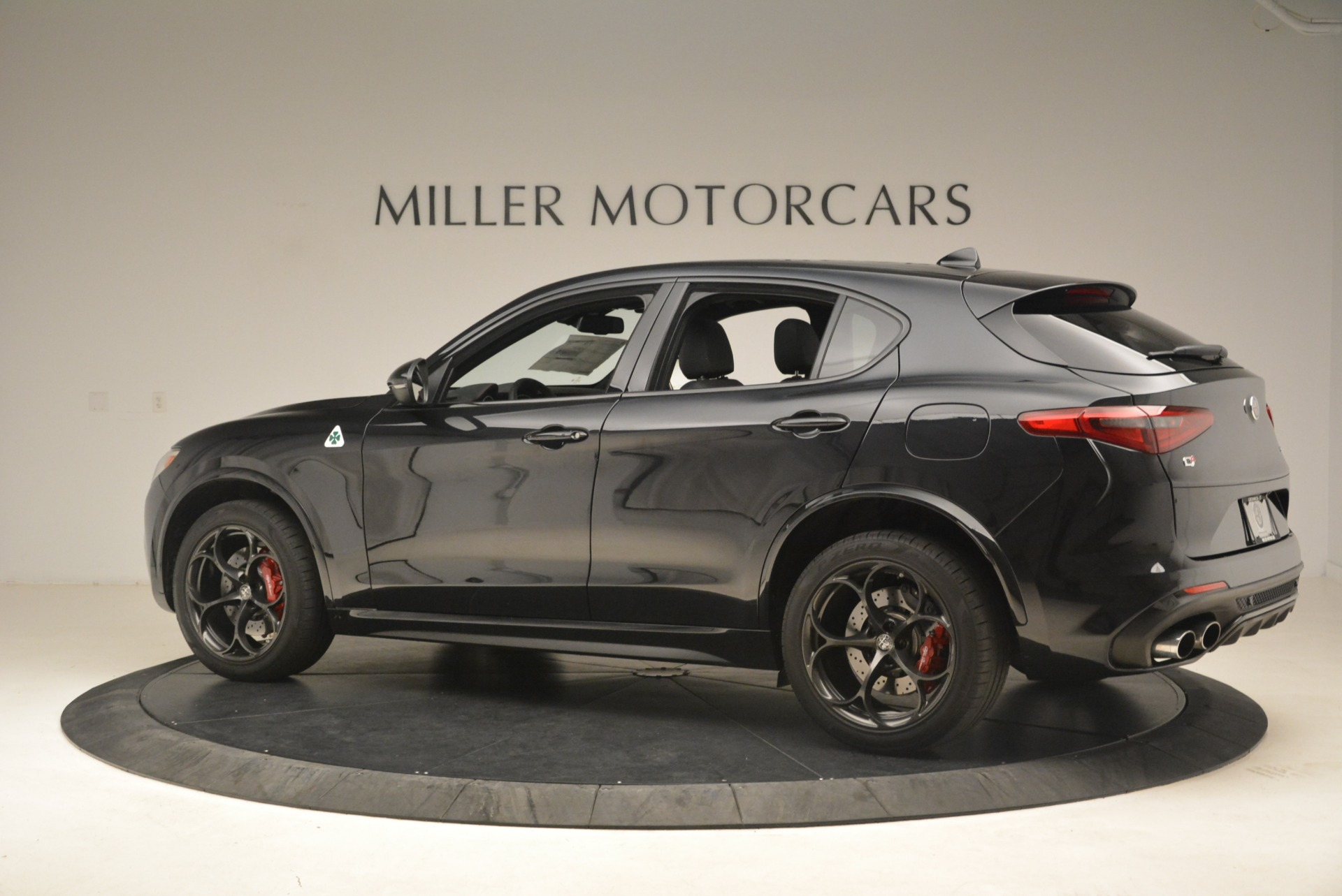 New 2019 Alfa Romeo Stelvio Quadrifoglio For Sale In Westport, CT 3096_p4