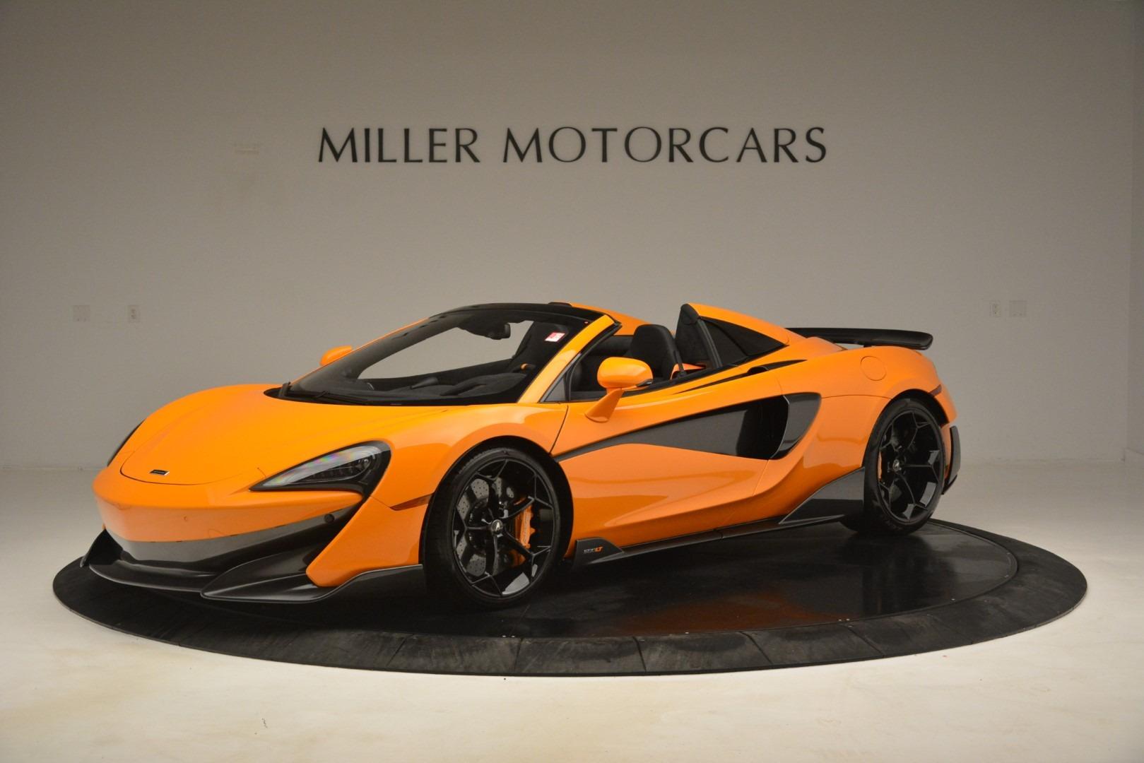 New 2020 McLaren 600LT Spider Convertible For Sale In Westport, CT 3109_main