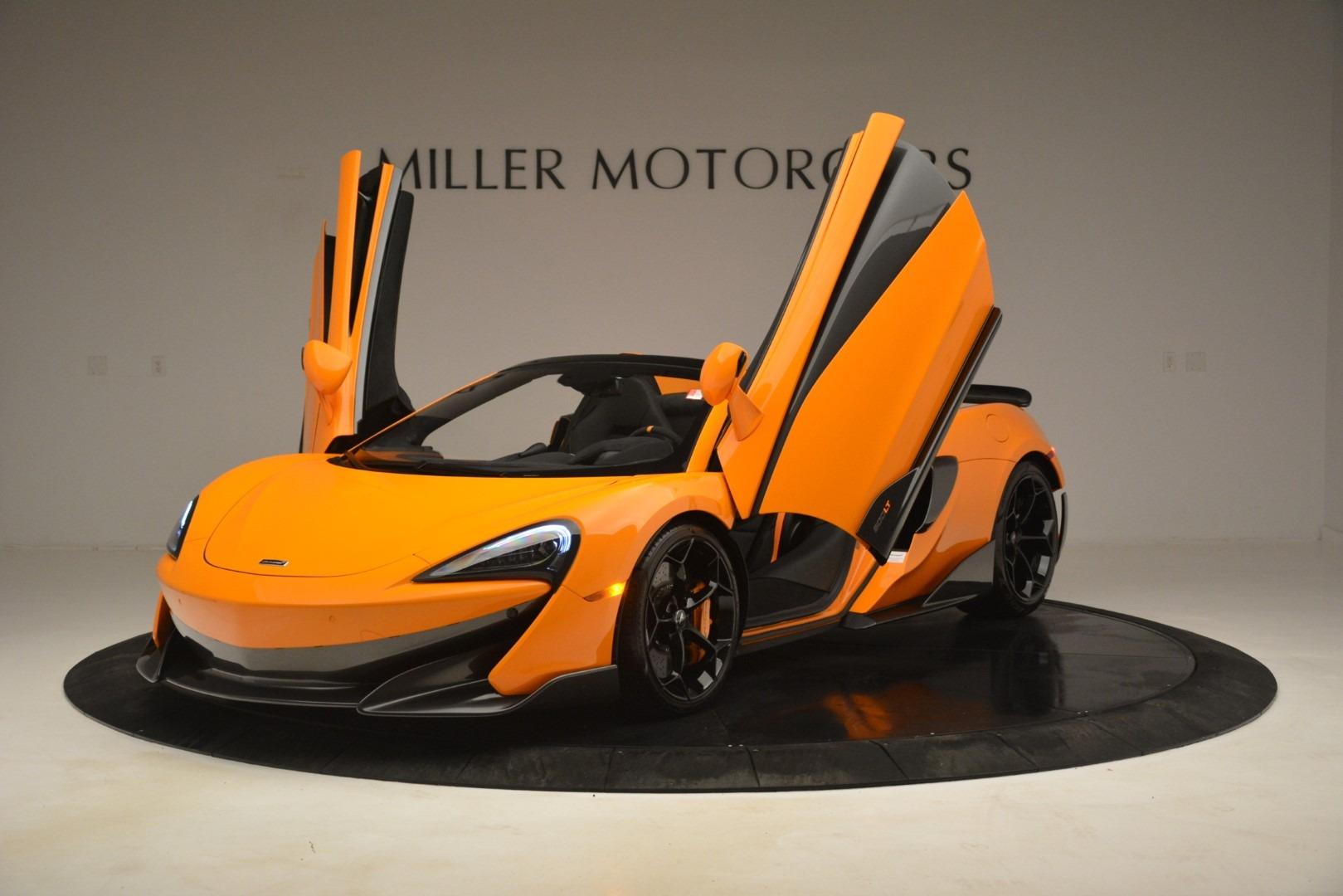 New 2020 McLaren 600LT Spider Convertible For Sale In Westport, CT 3109_p14
