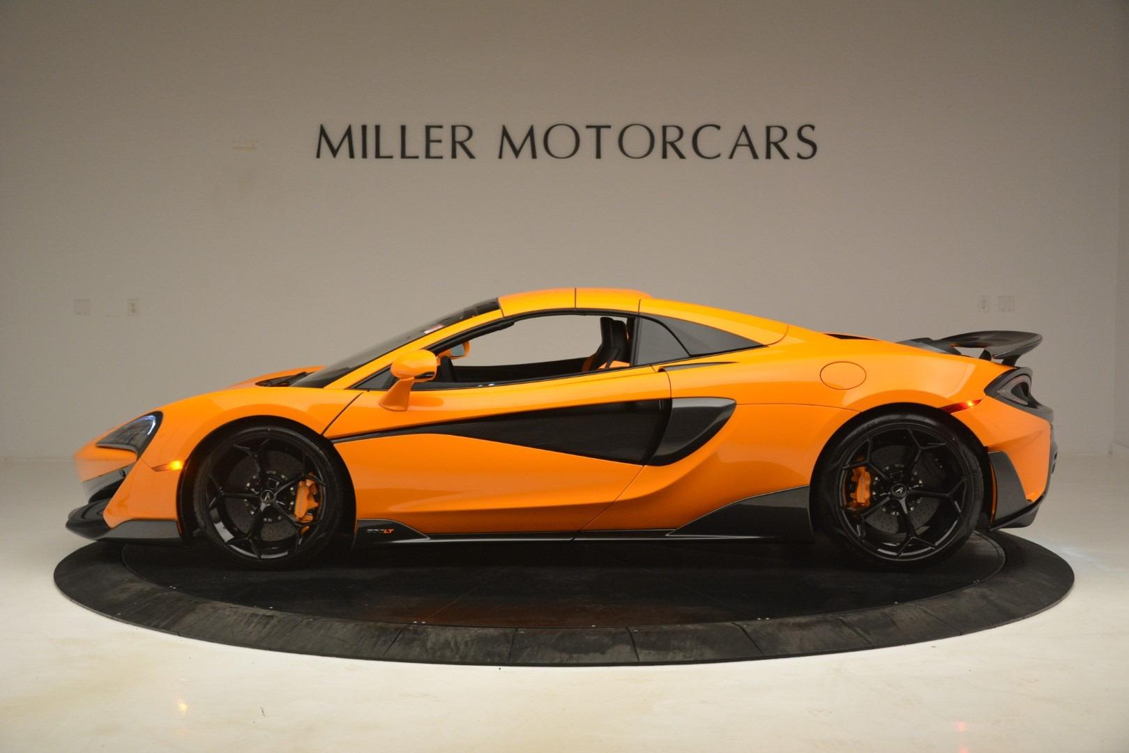 New 2020 McLaren 600LT Spider Convertible For Sale In Westport, CT 3109_p16