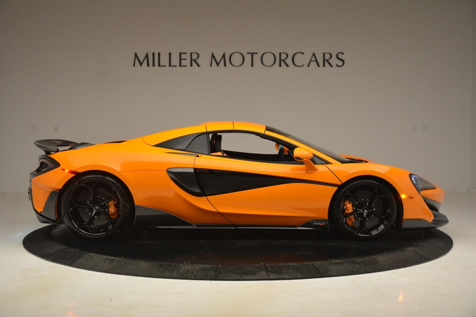 New 2020 McLaren 600LT Spider Convertible For Sale In Westport, CT 3109_p20