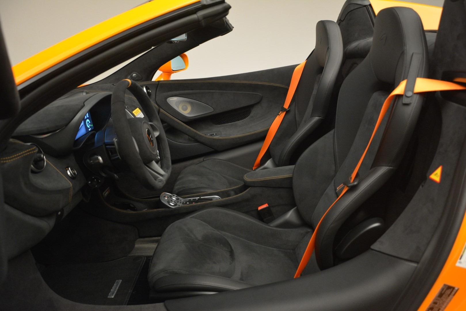New 2020 McLaren 600LT Spider Convertible For Sale In Westport, CT 3109_p25