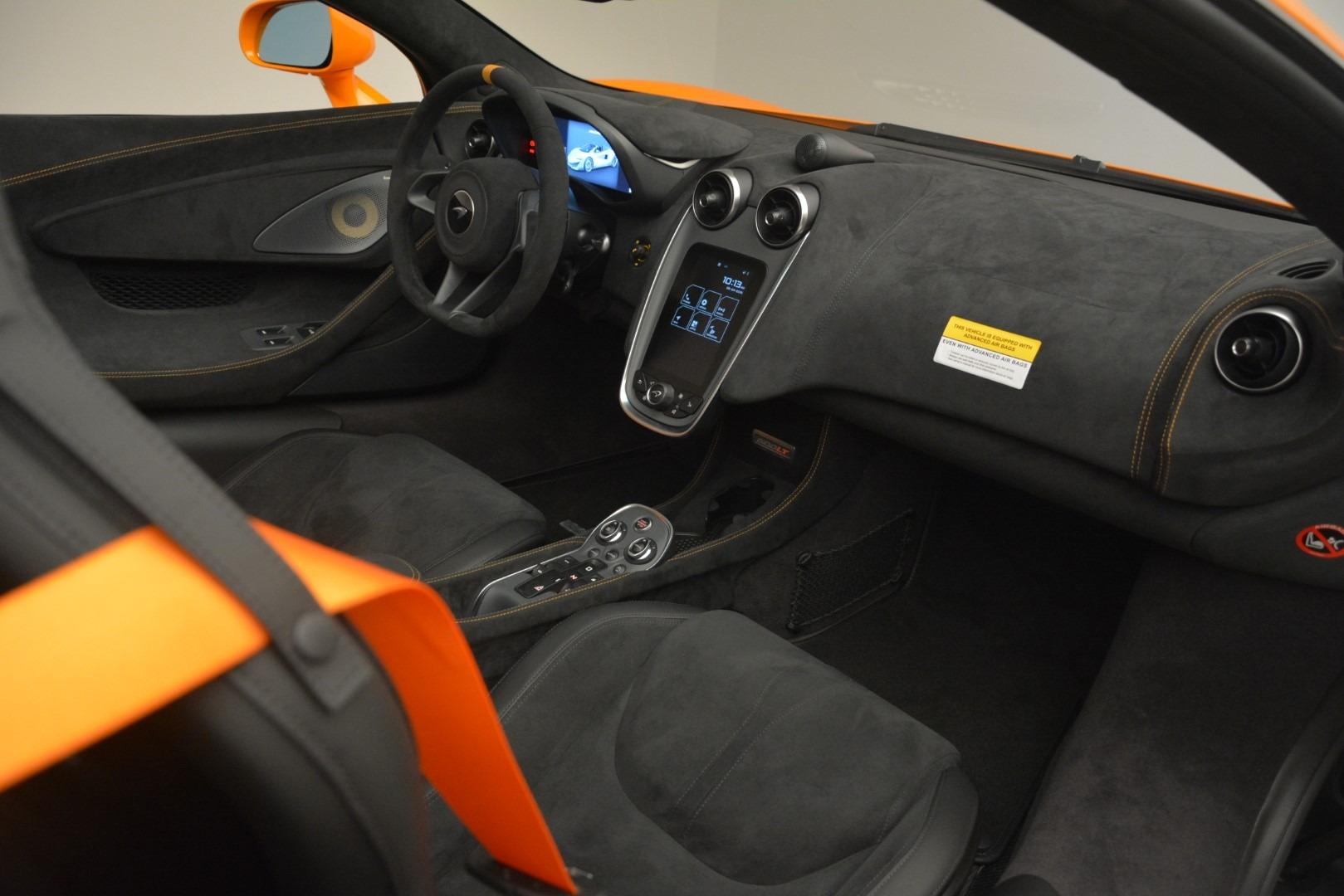 New 2020 McLaren 600LT Spider Convertible For Sale In Westport, CT 3109_p27