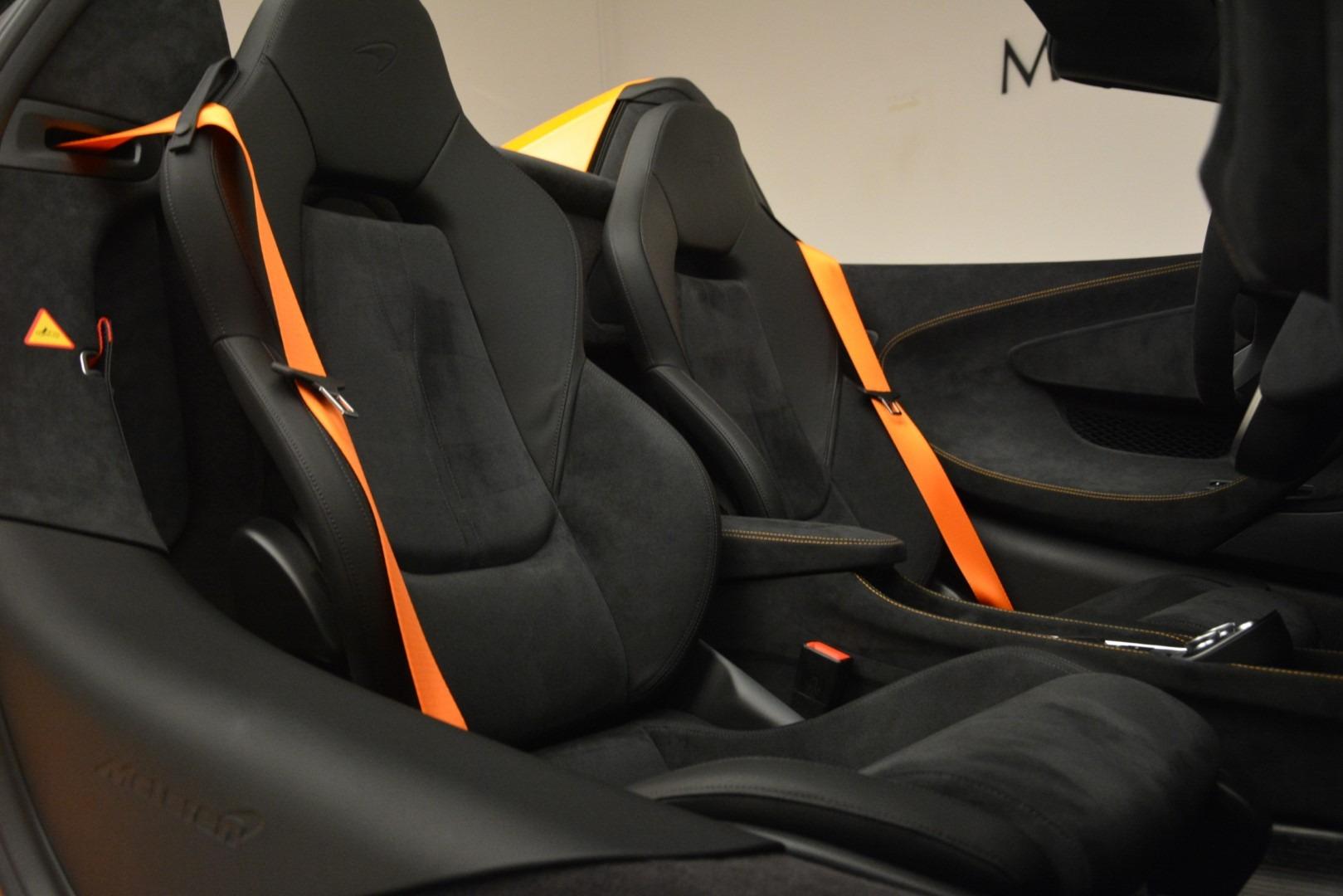 New 2020 McLaren 600LT Spider Convertible For Sale In Westport, CT 3109_p29