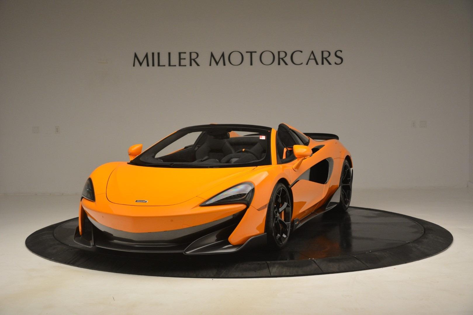 New 2020 McLaren 600LT Spider Convertible For Sale In Westport, CT 3109_p2