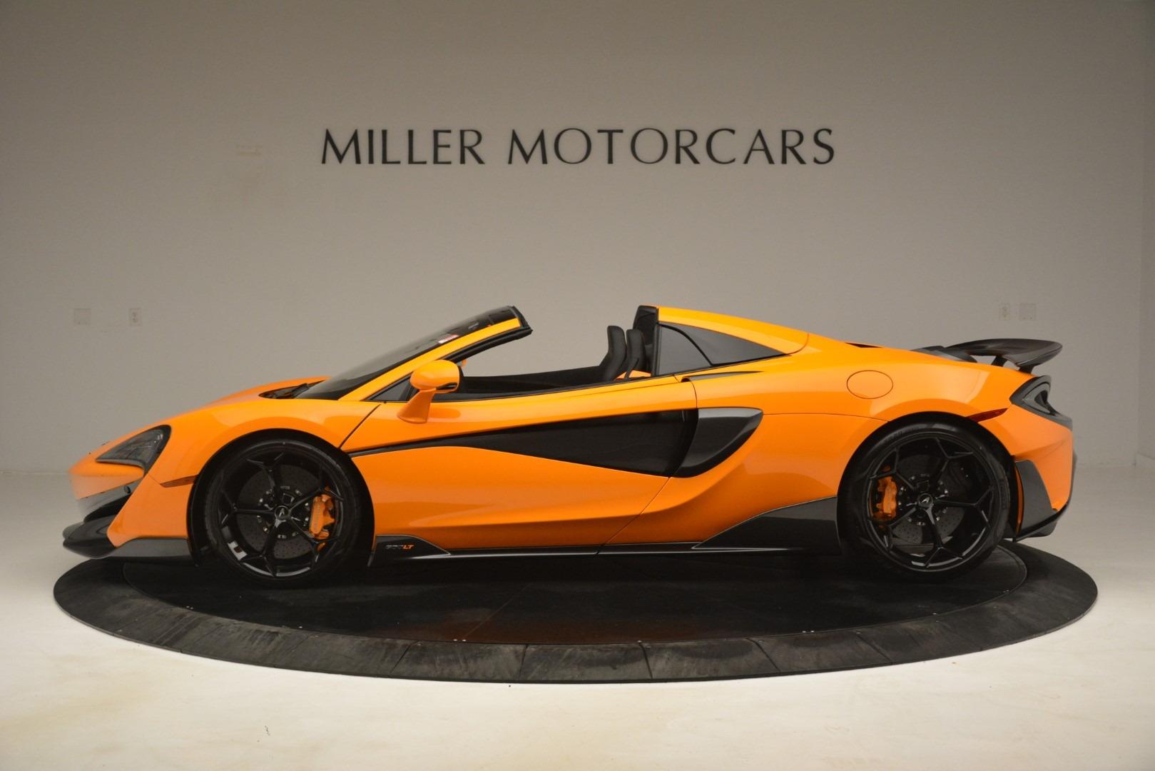New 2020 McLaren 600LT Spider Convertible For Sale In Westport, CT 3109_p3