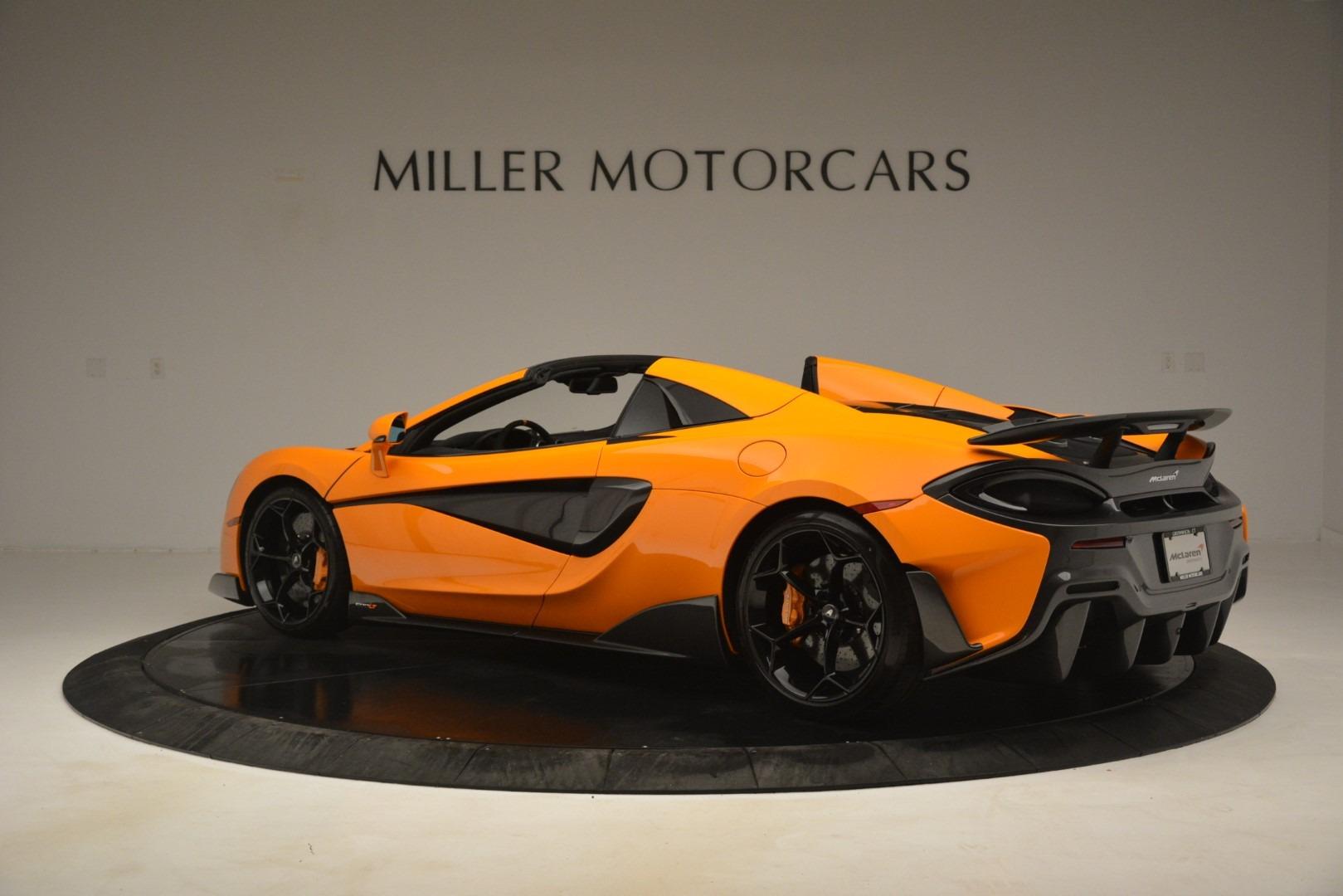 New 2020 McLaren 600LT Spider Convertible For Sale In Westport, CT 3109_p4