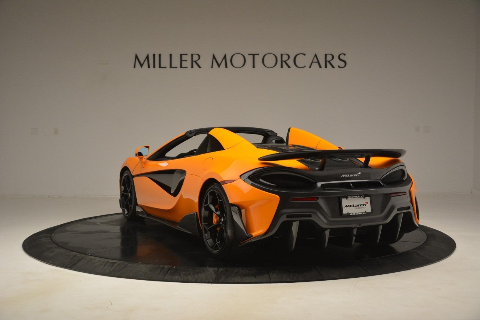 New 2020 McLaren 600LT Spider Convertible For Sale In Westport, CT 3109_p5