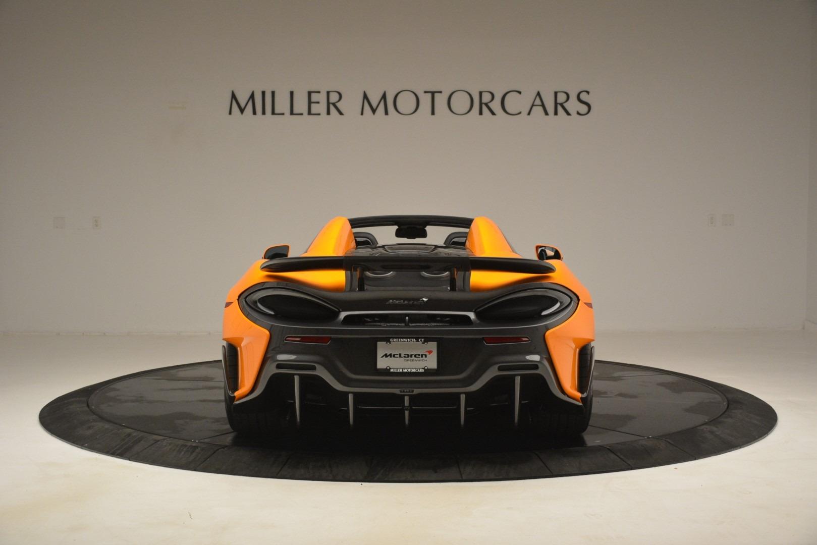 New 2020 McLaren 600LT Spider Convertible For Sale In Westport, CT 3109_p6