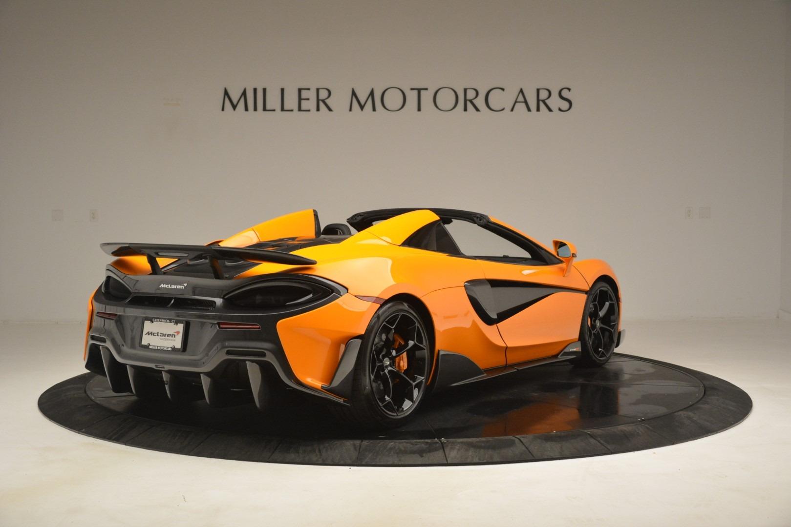 New 2020 McLaren 600LT Spider Convertible For Sale In Westport, CT 3109_p7