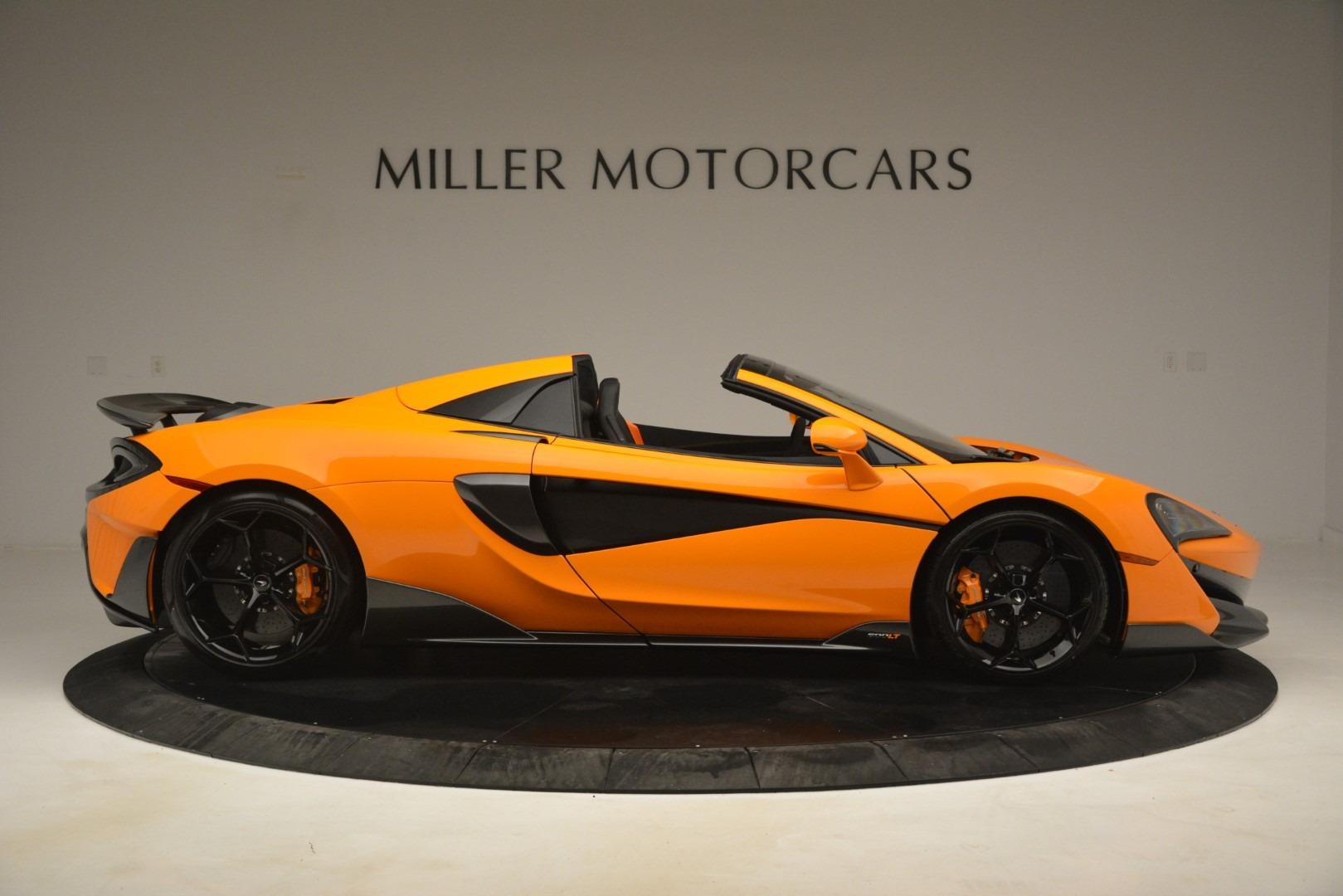 New 2020 McLaren 600LT Spider Convertible For Sale In Westport, CT 3109_p9