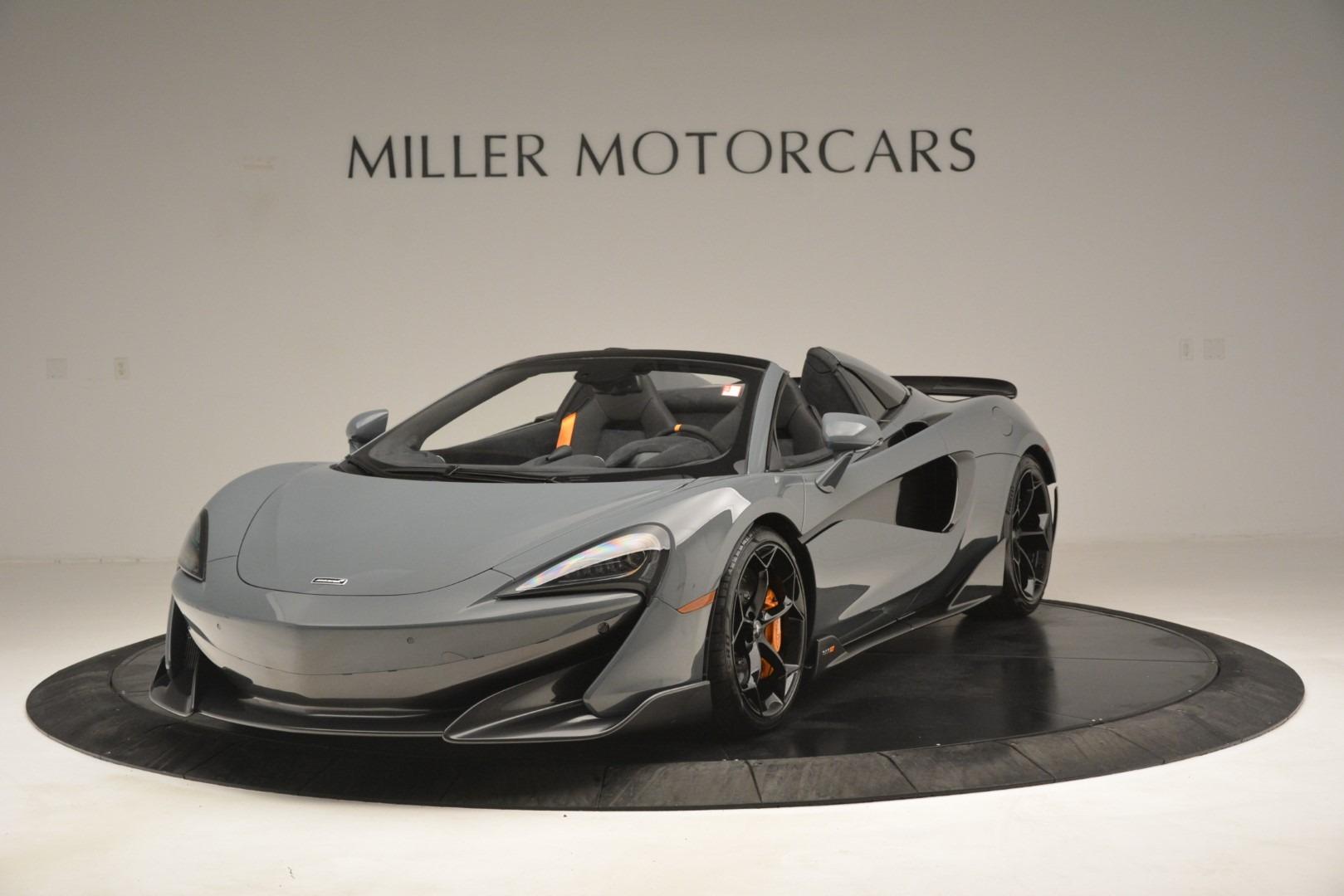 New 2020 McLaren 600LT Spider Convertible For Sale In Westport, CT 3110_main