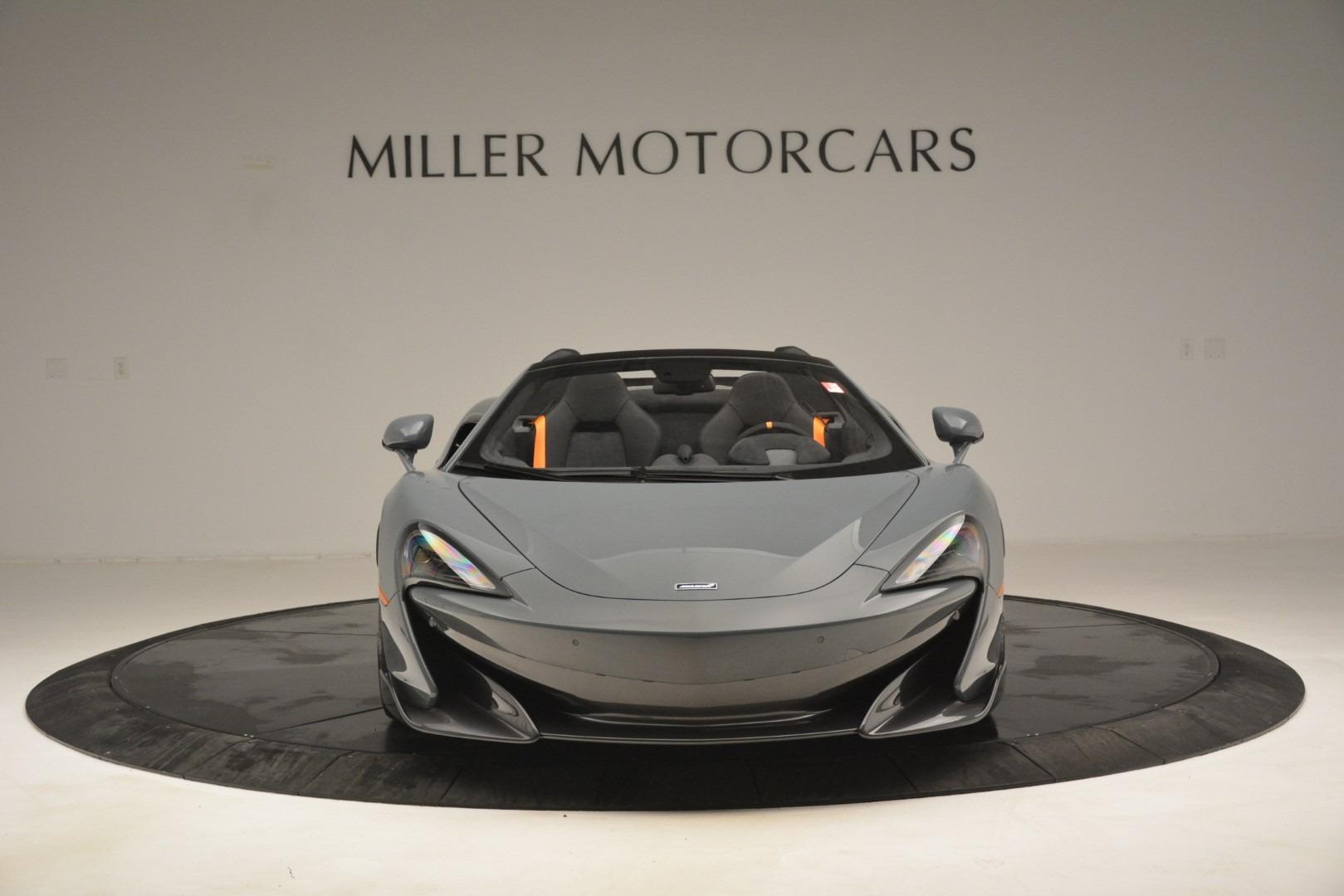 New 2020 McLaren 600LT Spider Convertible For Sale In Westport, CT 3110_p12