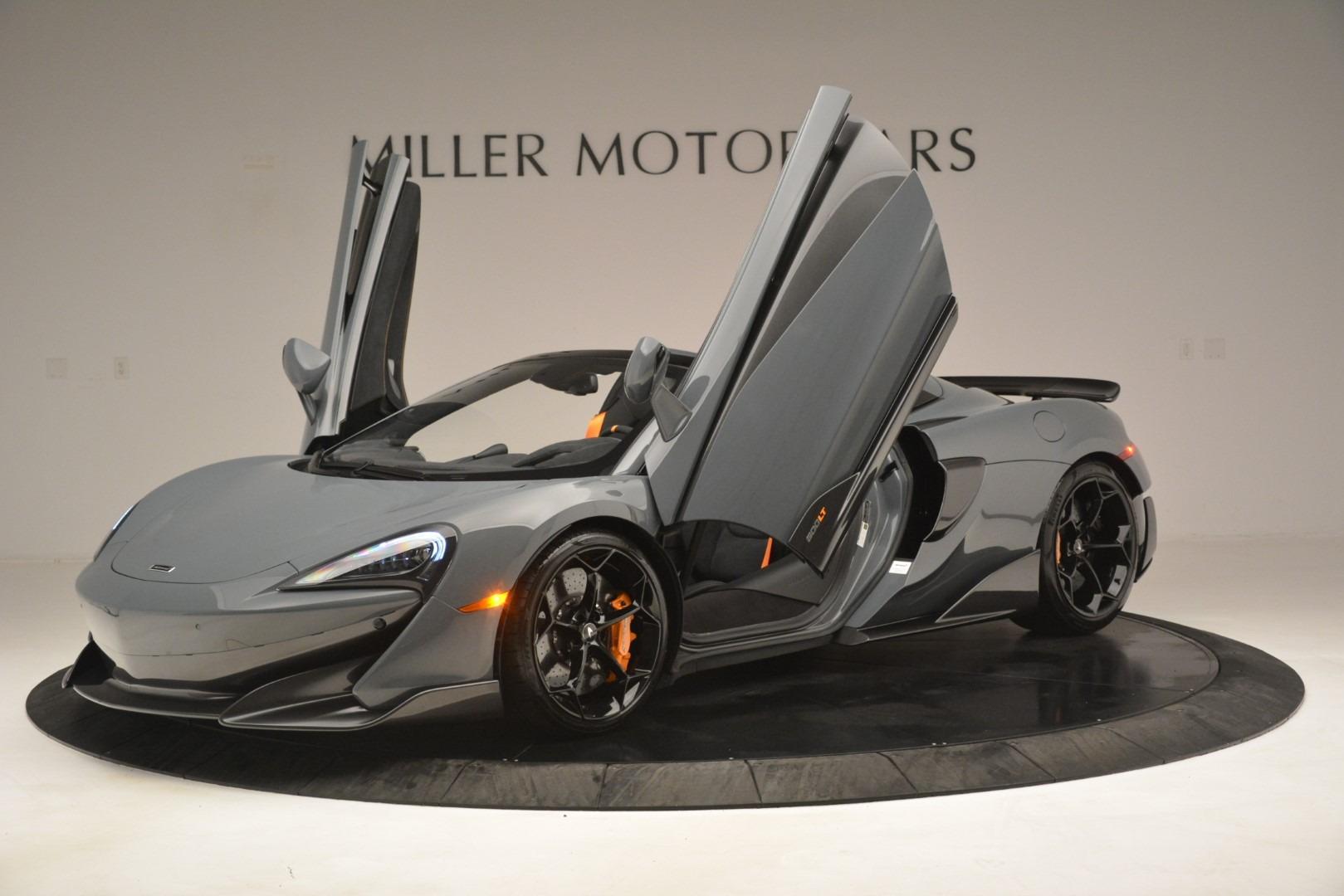 New 2020 McLaren 600LT Spider Convertible For Sale In Westport, CT 3110_p14