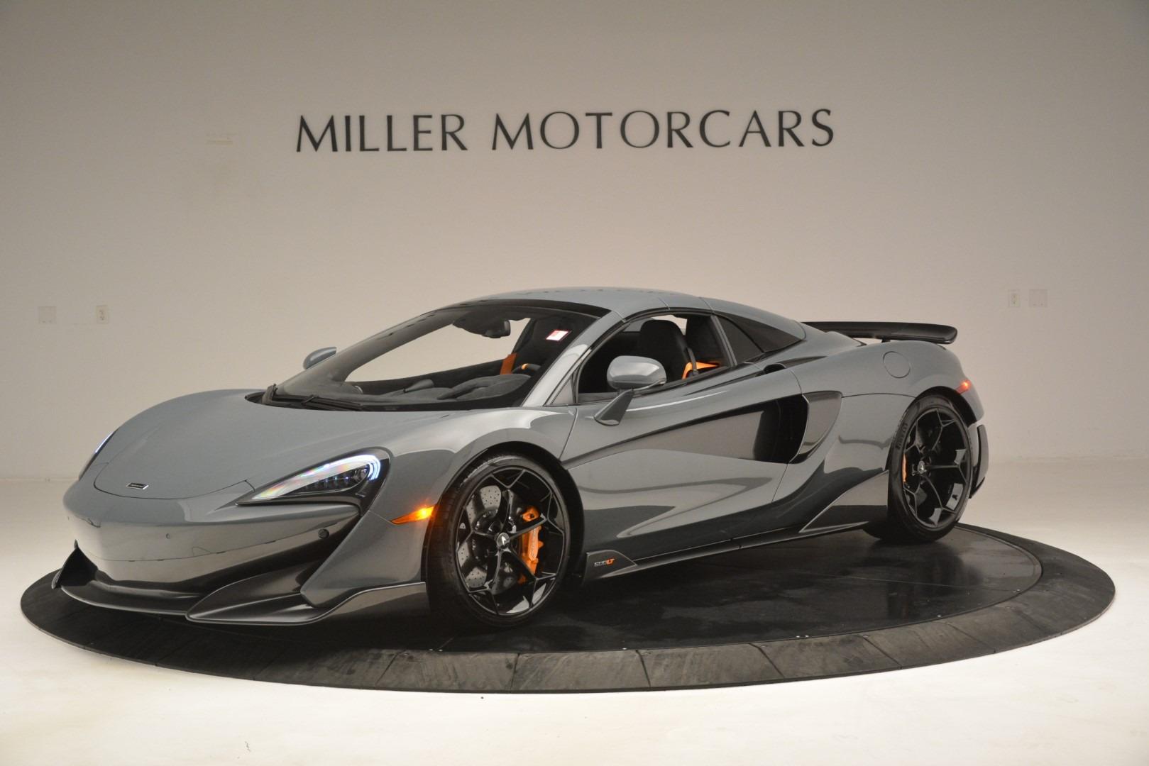 New 2020 McLaren 600LT Spider Convertible For Sale In Westport, CT 3110_p15