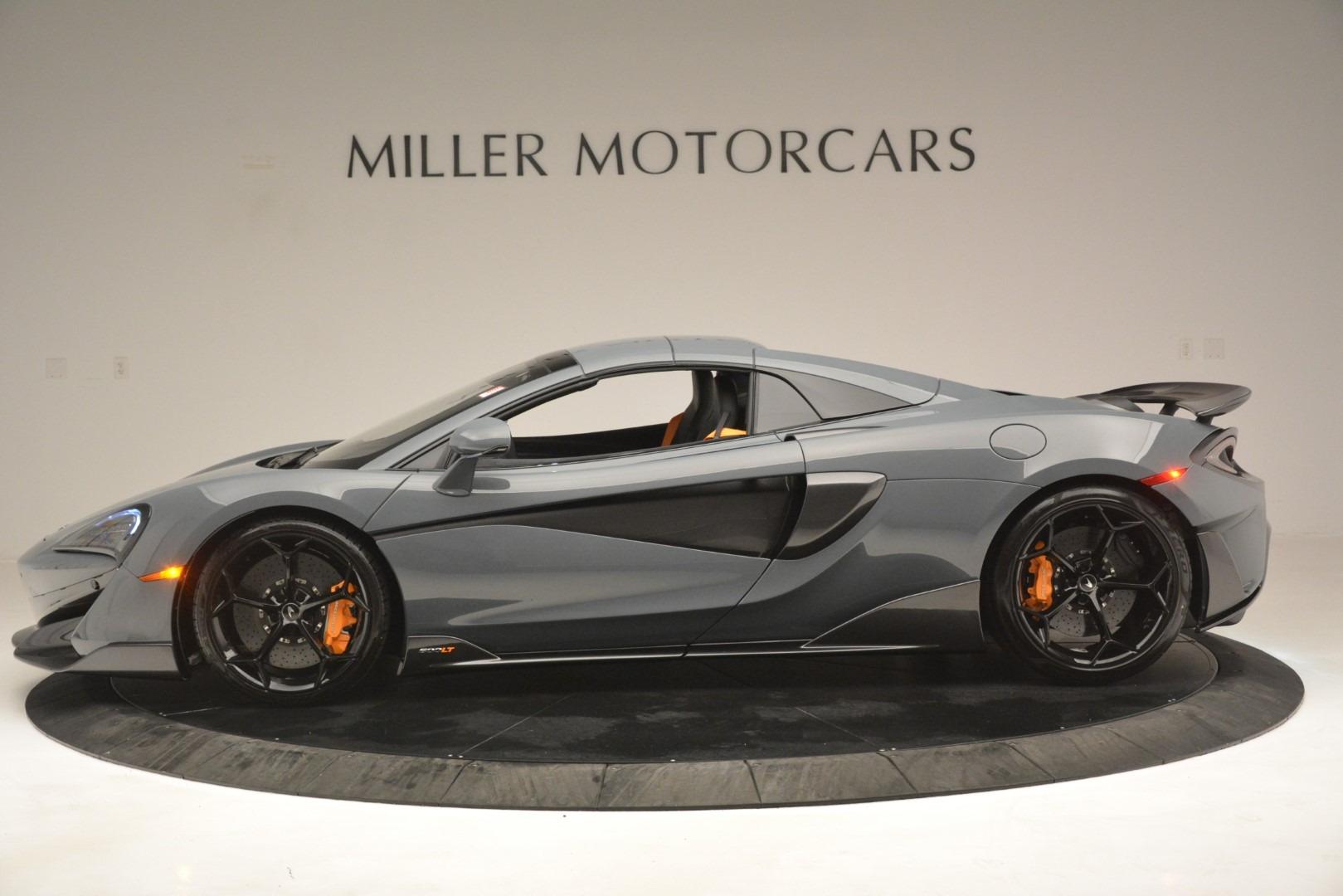 New 2020 McLaren 600LT Spider Convertible For Sale In Westport, CT 3110_p16