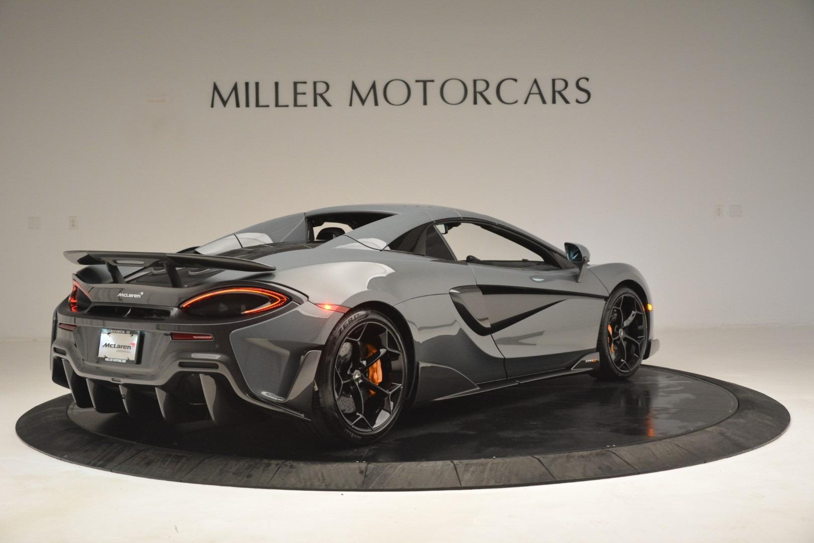 New 2020 McLaren 600LT Spider Convertible For Sale In Westport, CT 3110_p19