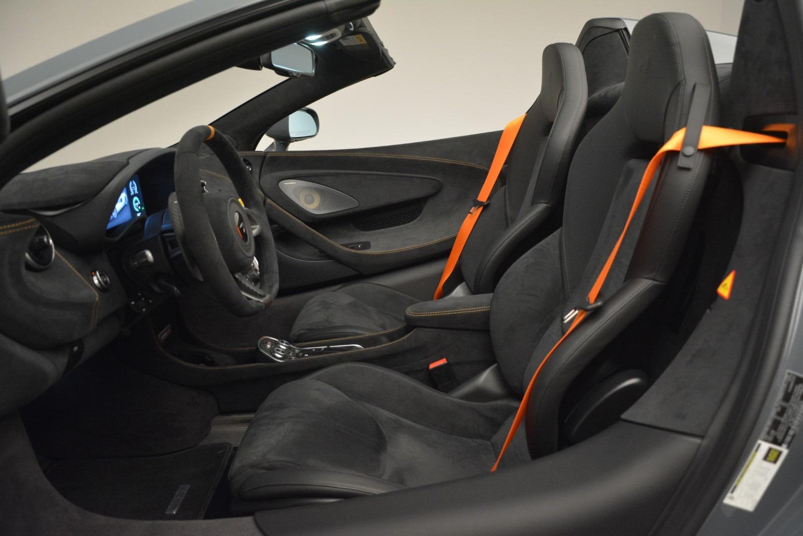 New 2020 McLaren 600LT Spider Convertible For Sale In Westport, CT 3110_p25