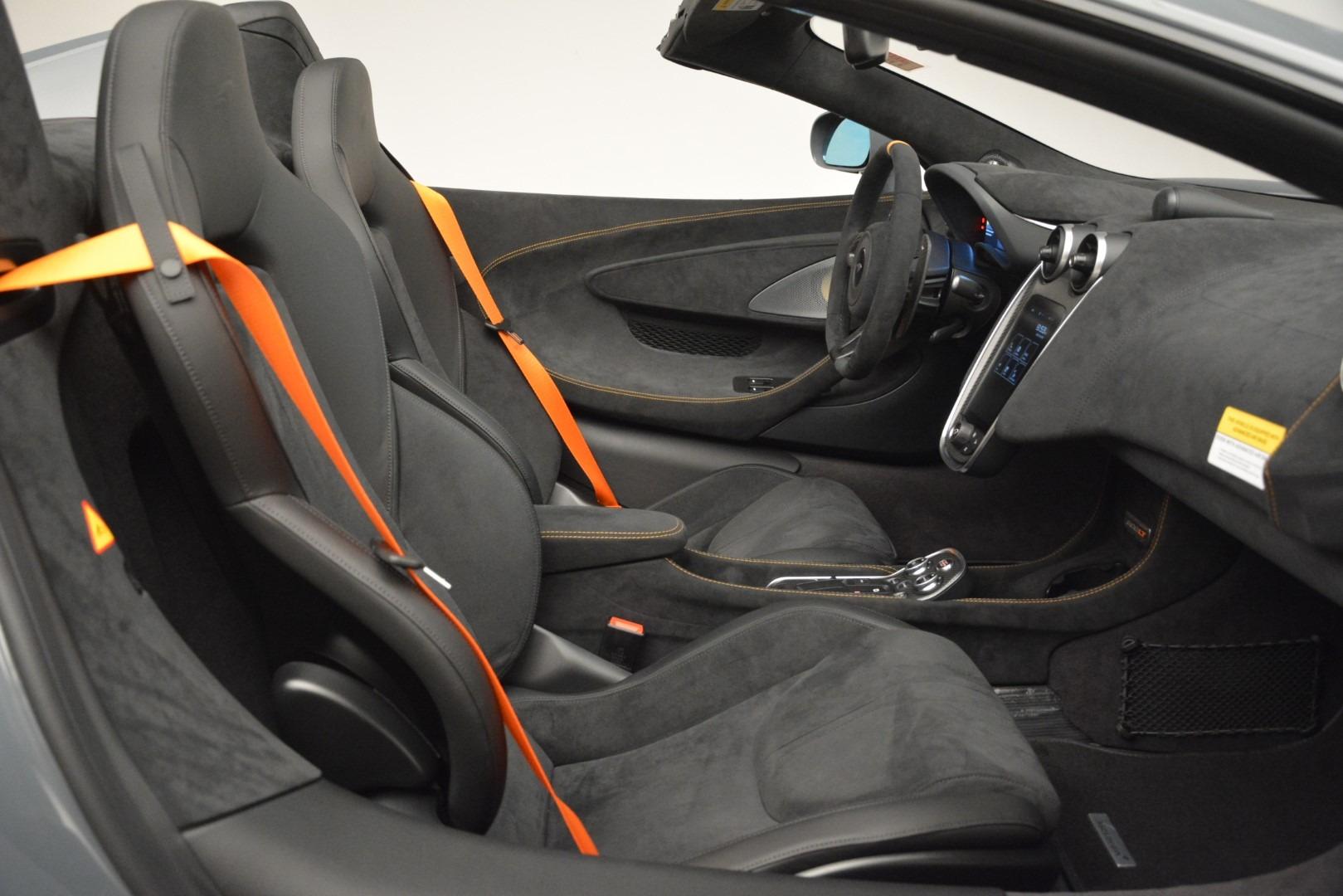 New 2020 McLaren 600LT Spider Convertible For Sale In Westport, CT 3110_p28