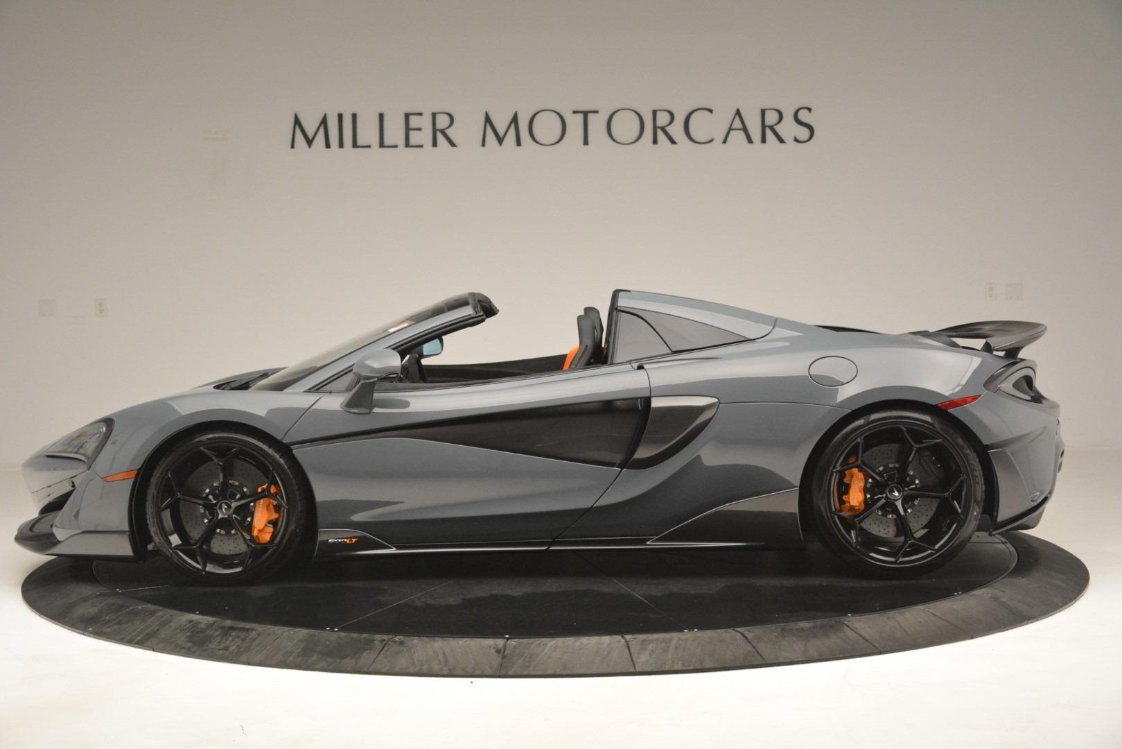 New 2020 McLaren 600LT Spider Convertible For Sale In Westport, CT 3110_p3