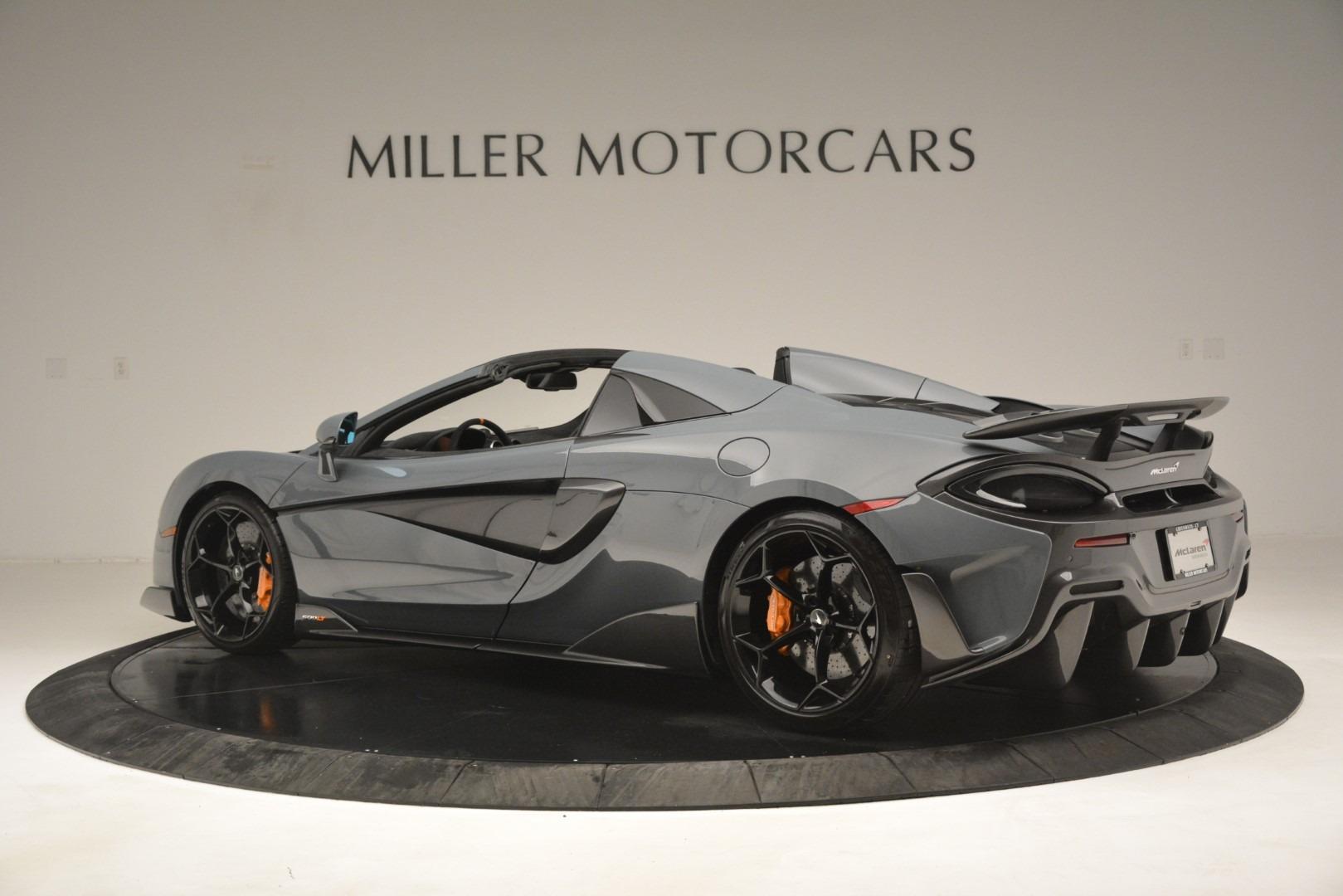 New 2020 McLaren 600LT Spider Convertible For Sale In Westport, CT 3110_p4