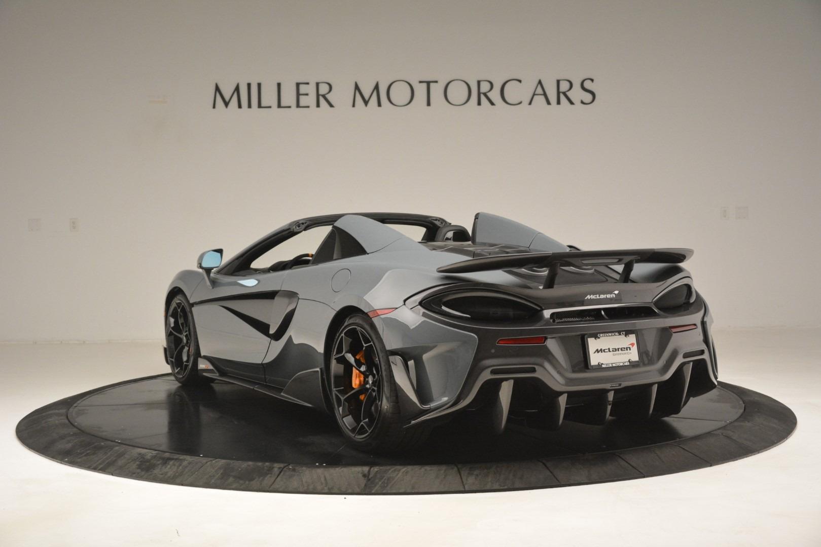 New 2020 McLaren 600LT Spider Convertible For Sale In Westport, CT 3110_p5