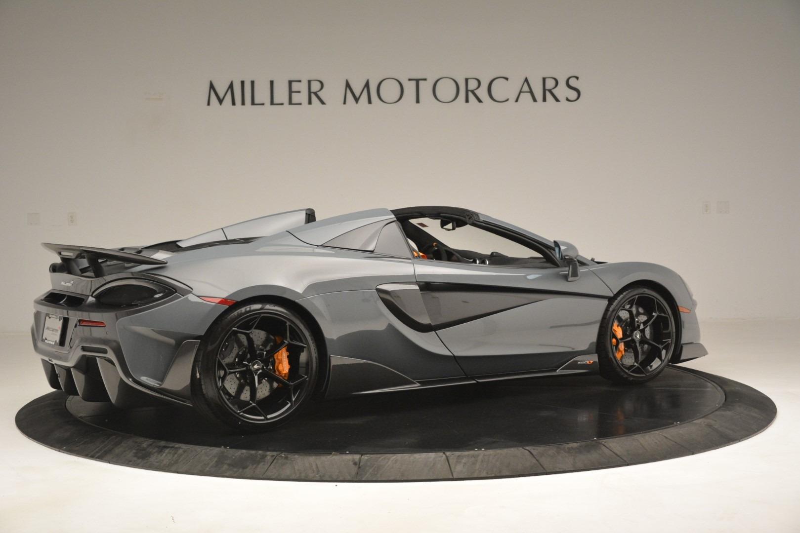 New 2020 McLaren 600LT Spider Convertible For Sale In Westport, CT 3110_p8