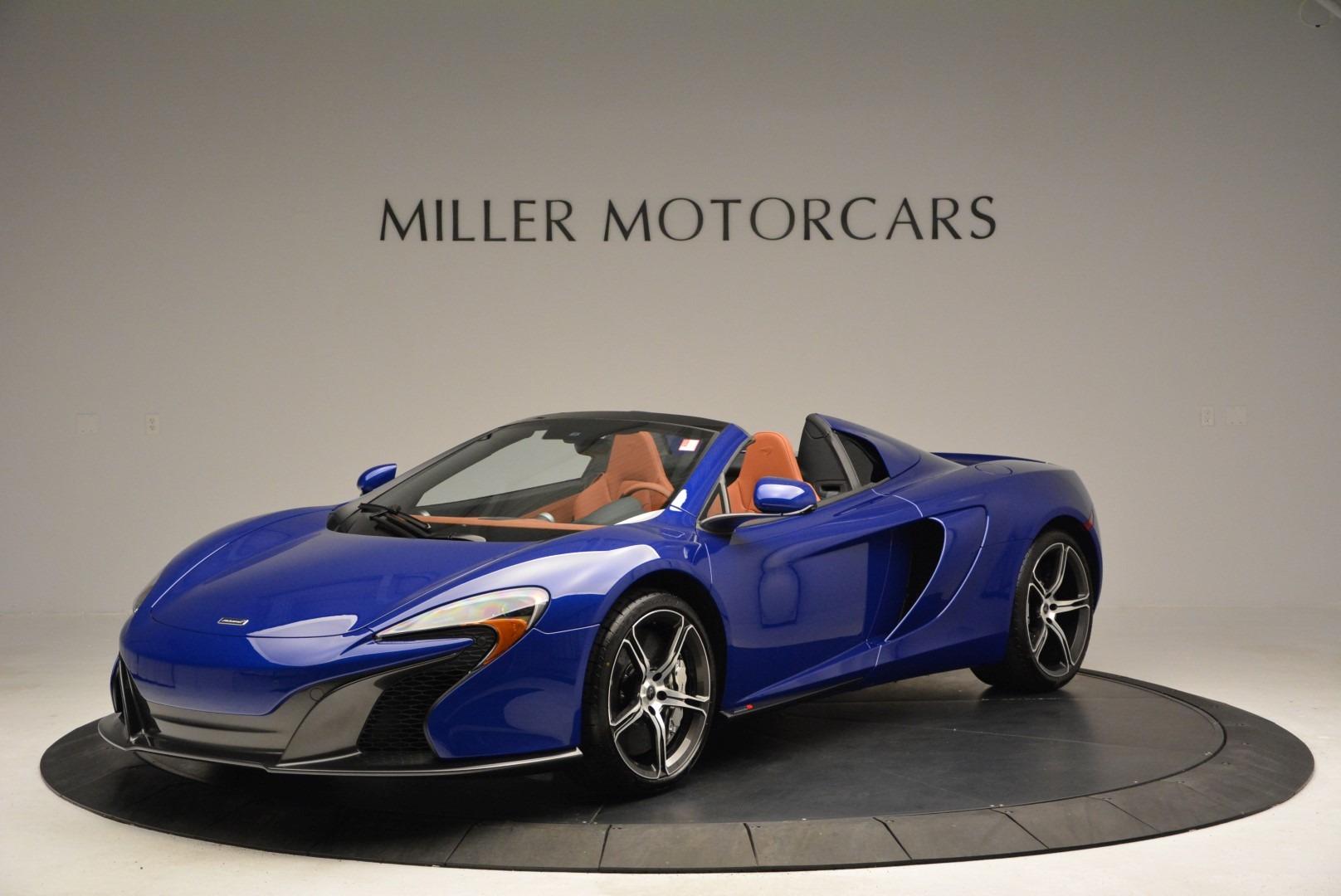 Used 2015 McLaren 650S Spider Convertible For Sale In Westport, CT 3112_main
