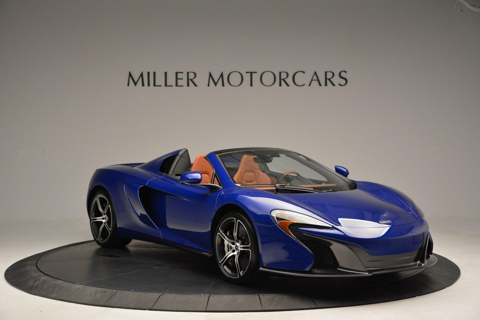 Used 2015 McLaren 650S Spider Convertible For Sale In Westport, CT 3112_p11