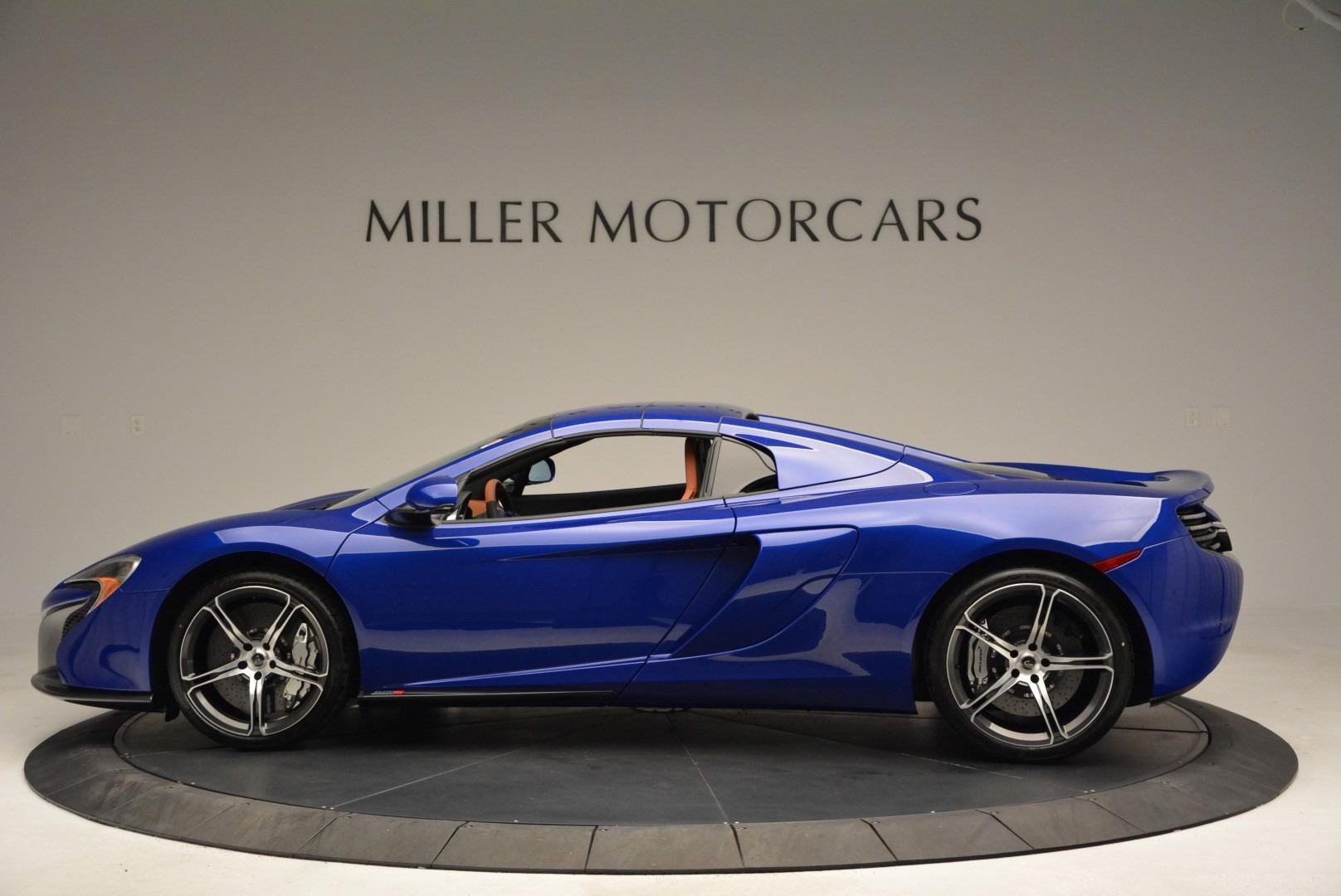 Used 2015 McLaren 650S Spider Convertible For Sale In Westport, CT 3112_p15