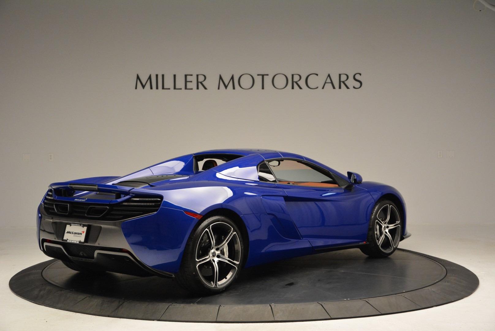 Used 2015 McLaren 650S Spider Convertible For Sale In Westport, CT 3112_p18