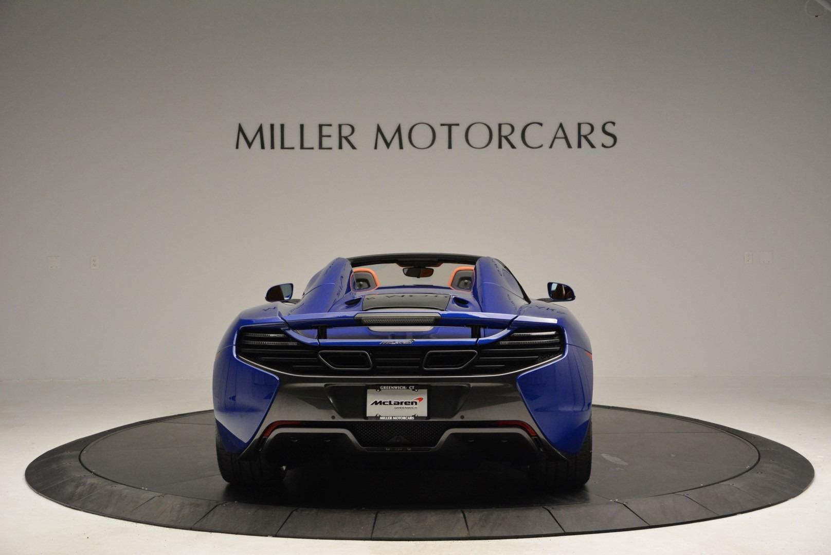 Used 2015 McLaren 650S Spider Convertible For Sale In Westport, CT 3112_p6