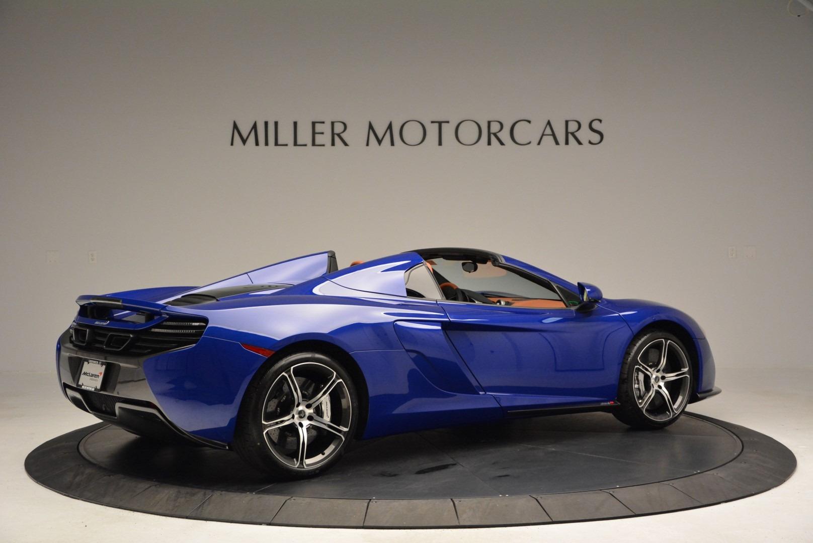 Used 2015 McLaren 650S Spider Convertible For Sale In Westport, CT 3112_p8