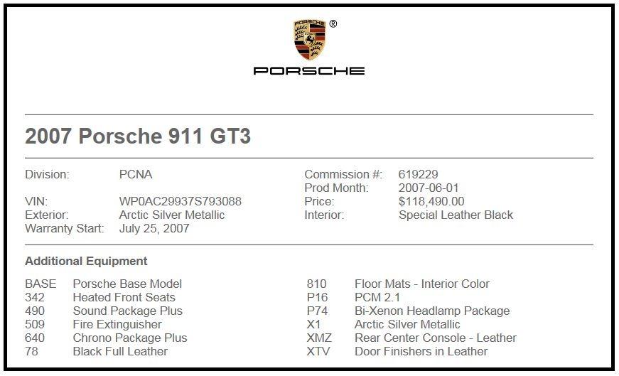 Used 2007 Porsche 911 GT3 For Sale In Westport, CT 3120_p22
