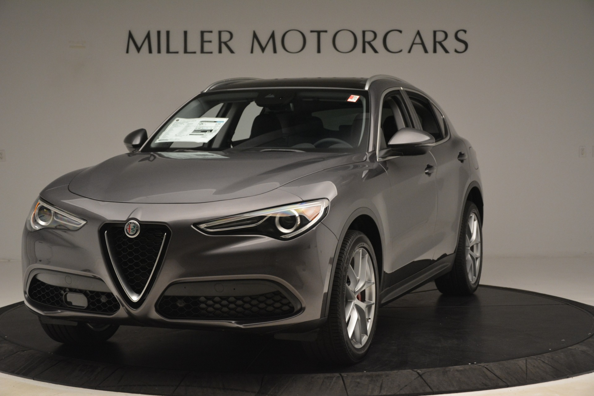 New 2019 Alfa Romeo Stelvio Ti Lusso Q4 For Sale In Westport, CT 3128_main