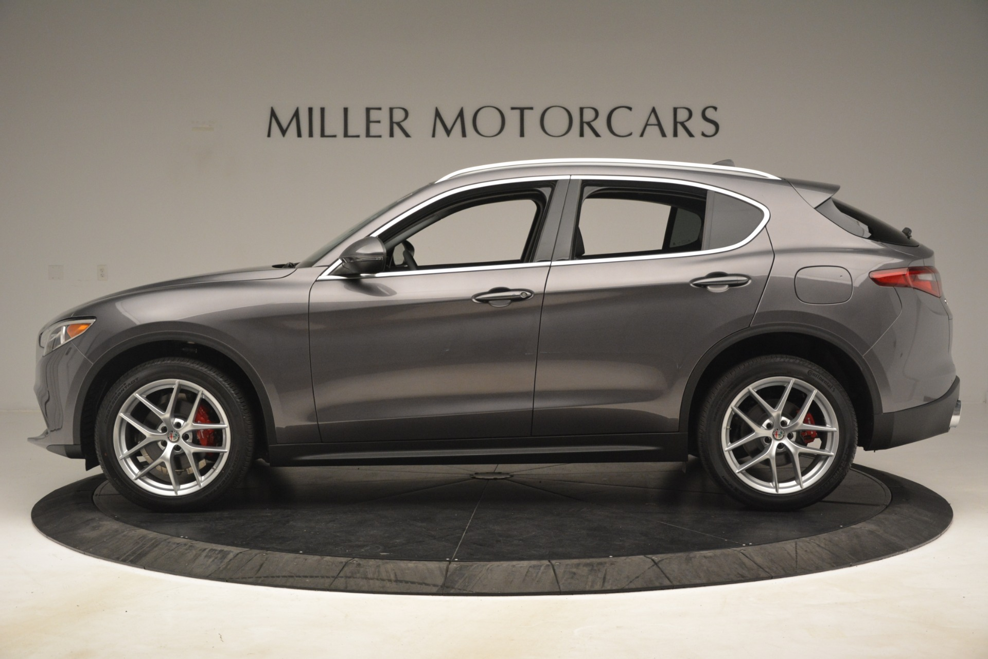 New 2019 Alfa Romeo Stelvio Ti Lusso Q4 For Sale In Westport, CT 3128_p3