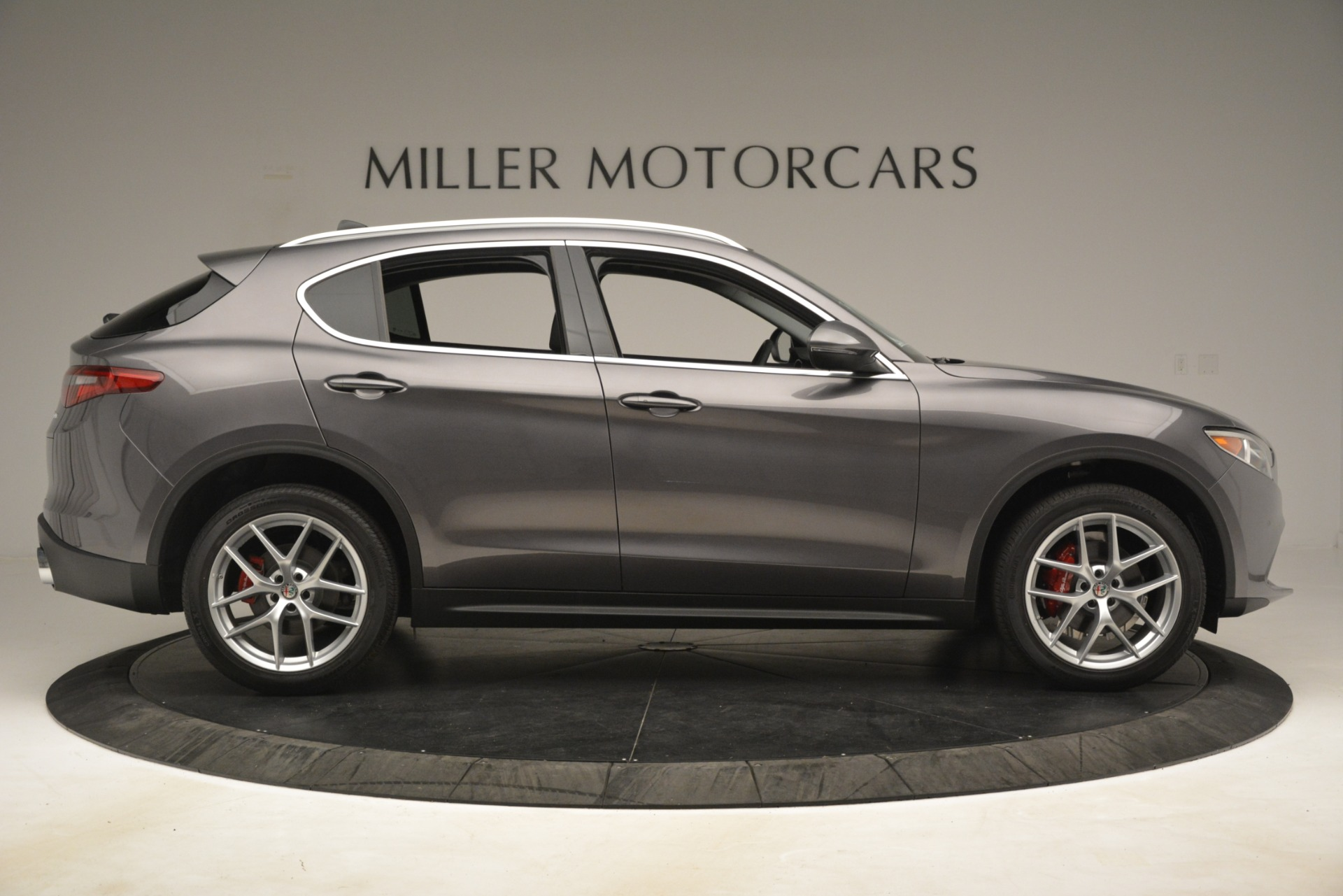 New 2019 Alfa Romeo Stelvio Ti Lusso Q4 For Sale In Westport, CT 3128_p9