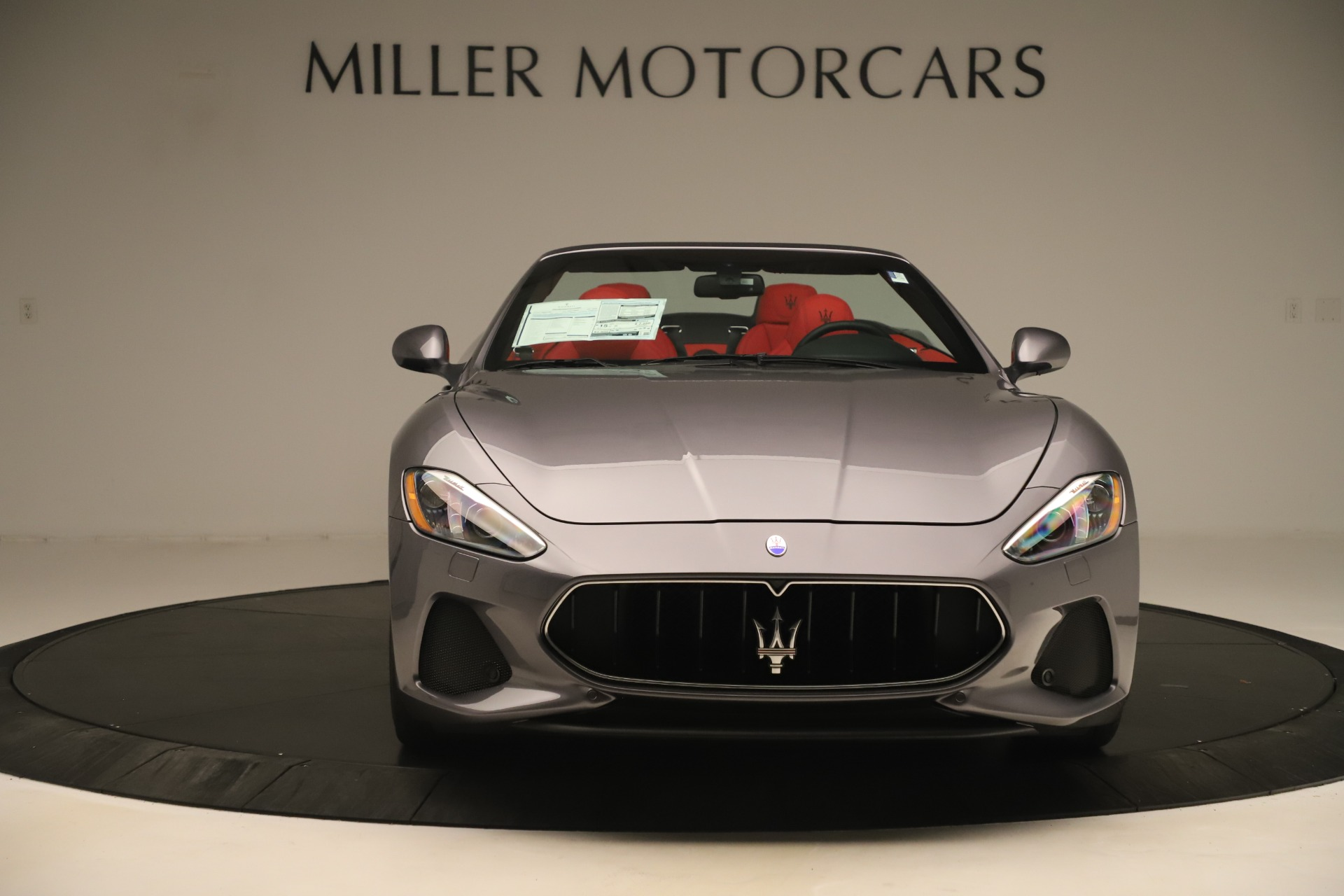 New 2018 Maserati GranTurismo Sport Convertible For Sale In Westport, CT 3131_p12