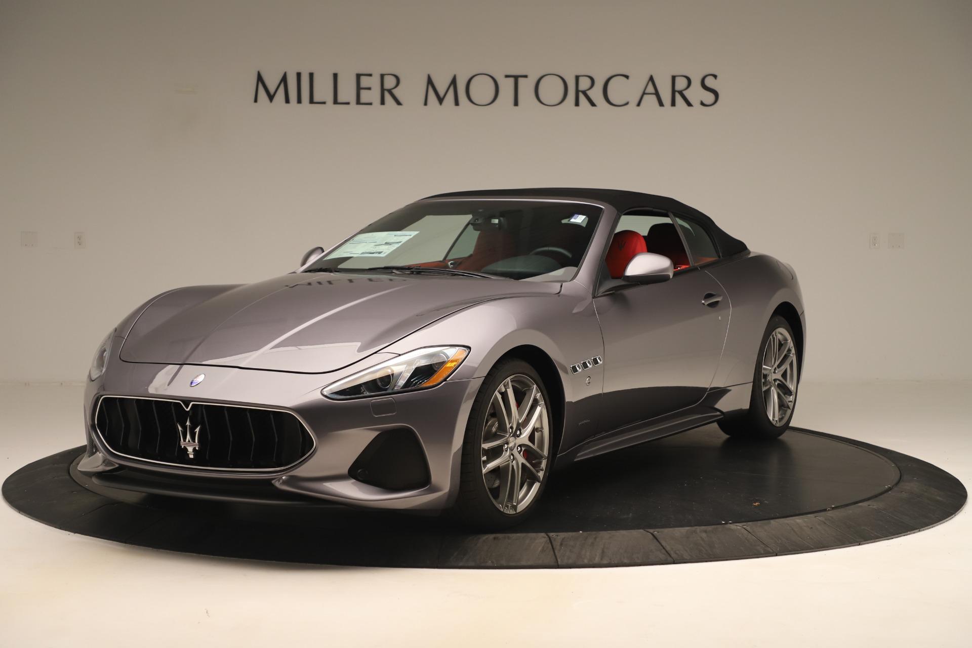 New 2018 Maserati GranTurismo Sport Convertible For Sale In Westport, CT 3131_p13
