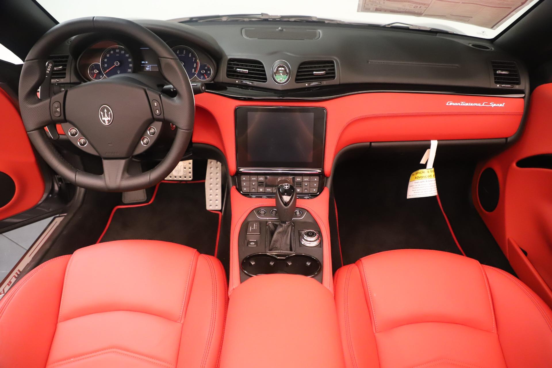 New 2018 Maserati GranTurismo Sport Convertible For Sale In Westport, CT 3131_p22
