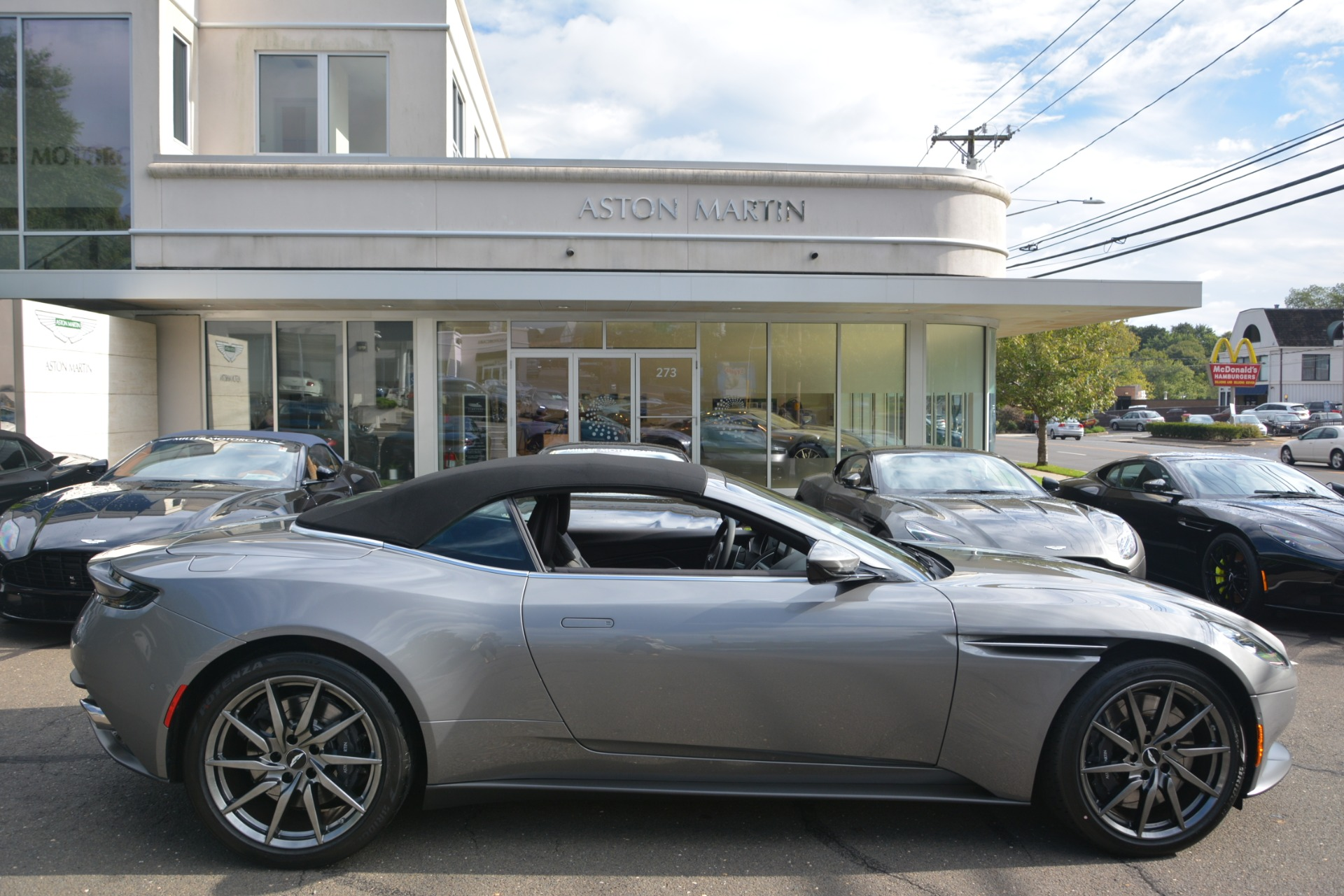 New 2019 Aston Martin DB11 V8 Convertible For Sale In Westport, CT 3136_p27