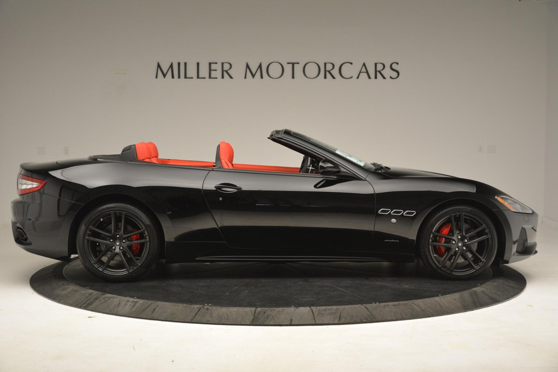 New 2018 Maserati GranTurismo Sport Convertible For Sale In Westport, CT 3137_p17