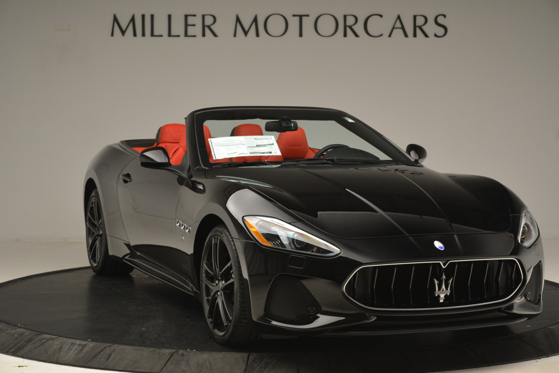 New 2018 Maserati GranTurismo Sport Convertible For Sale In Westport, CT 3137_p21