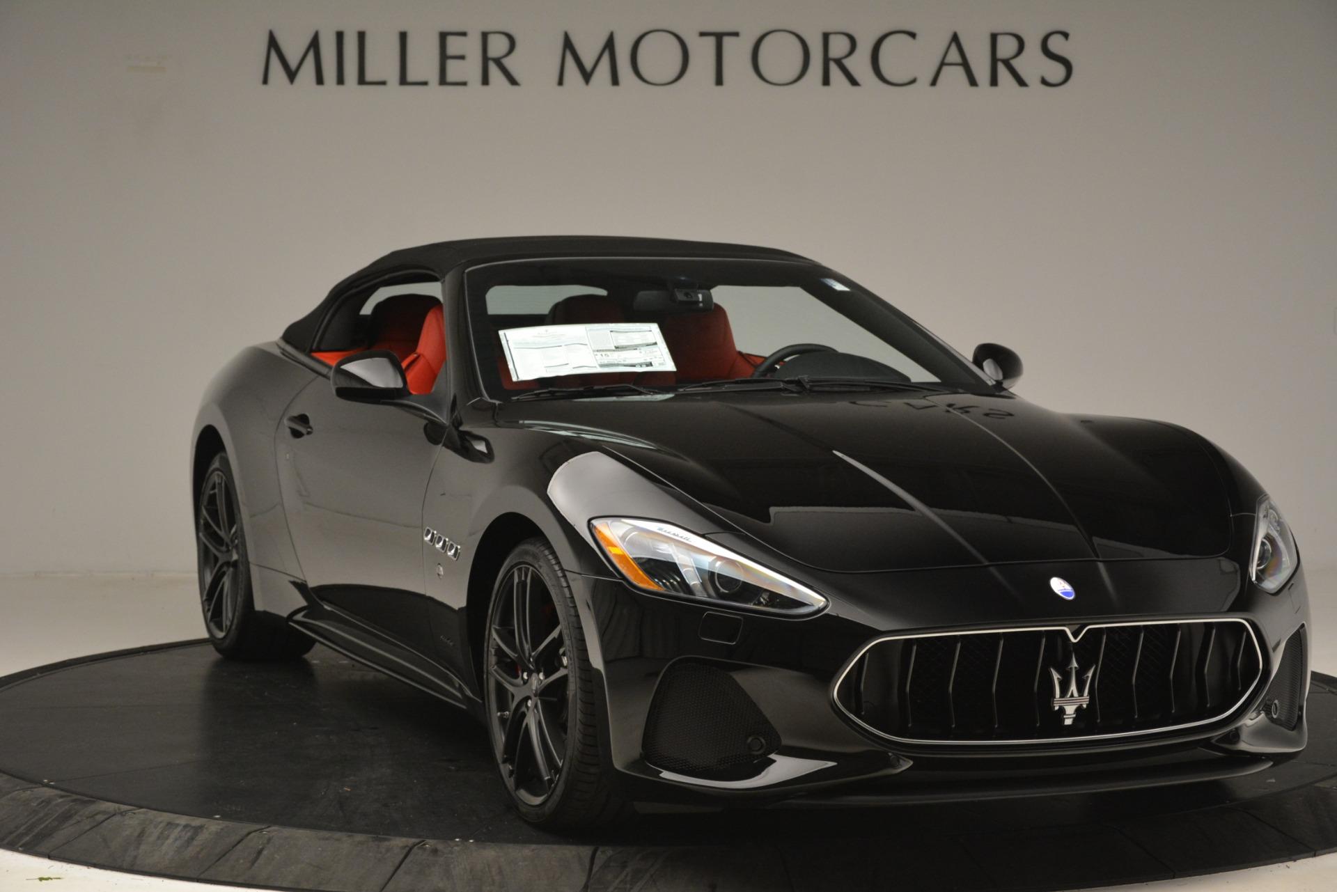 New 2018 Maserati GranTurismo Sport Convertible For Sale In Westport, CT 3137_p22