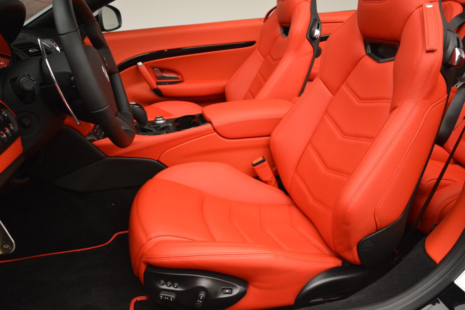 New 2018 Maserati GranTurismo Sport Convertible For Sale In Westport, CT 3137_p27