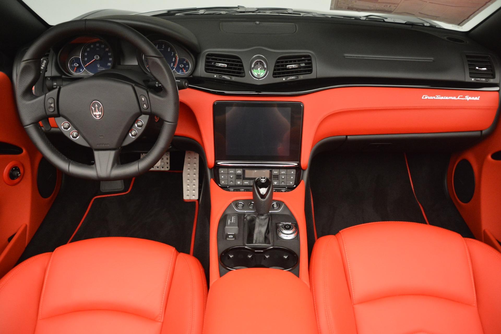 New 2018 Maserati GranTurismo Sport Convertible For Sale In Westport, CT 3137_p28
