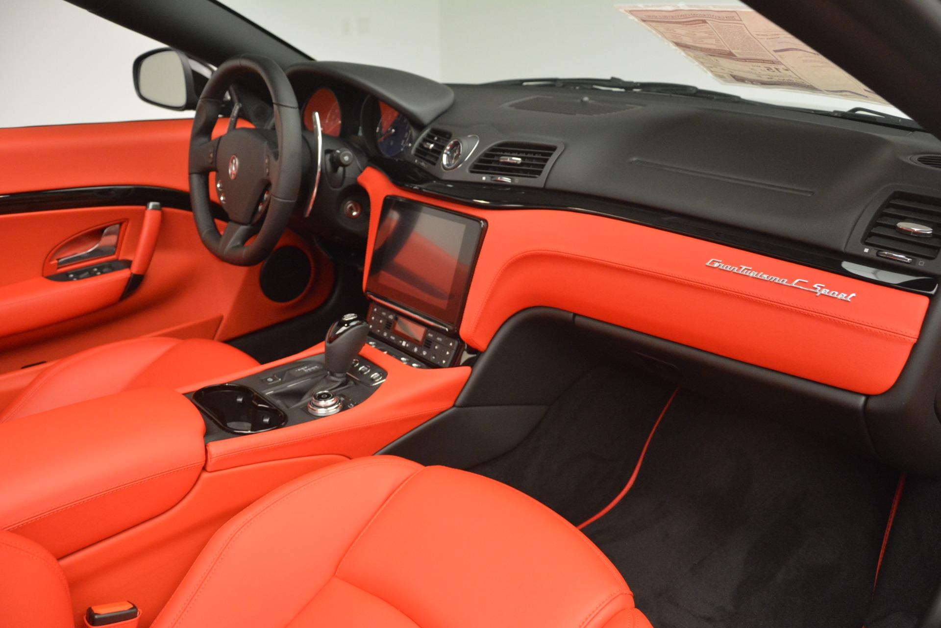 New 2018 Maserati GranTurismo Sport Convertible For Sale In Westport, CT 3137_p33