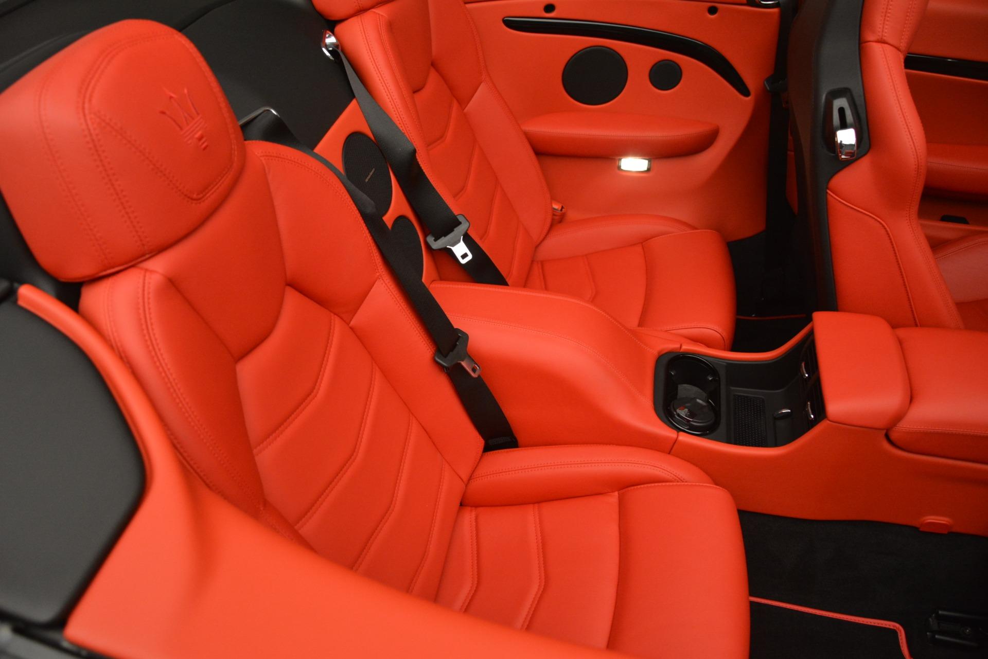 New 2018 Maserati GranTurismo Sport Convertible For Sale In Westport, CT 3137_p38